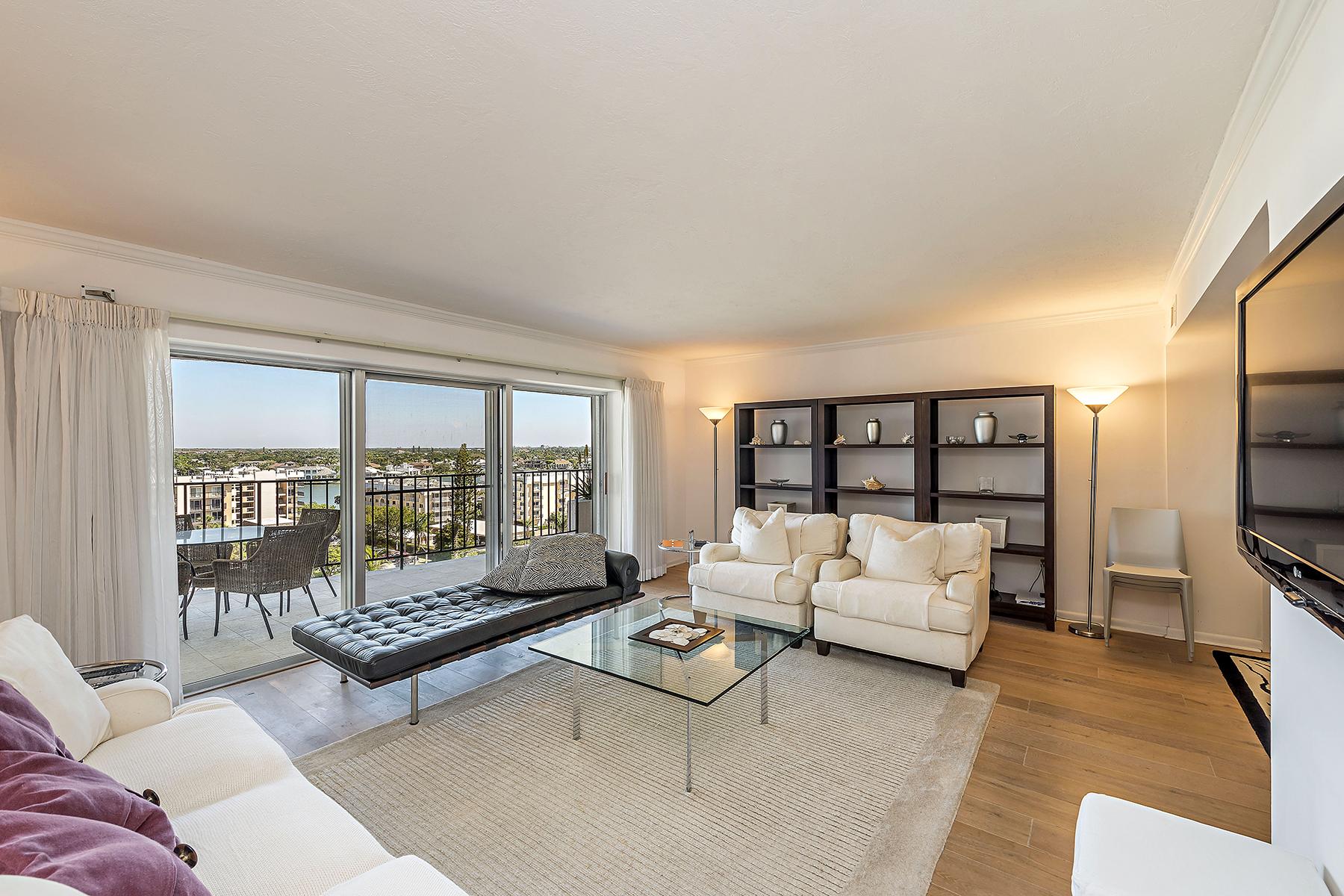 共管式独立产权公寓 为 销售 在 3951 Gulf Shore Blvd N, 800, Naples, FL 34103 3951 Gulf Shore Blvd N 800, 那不勒斯, 佛罗里达州, 34103 美国