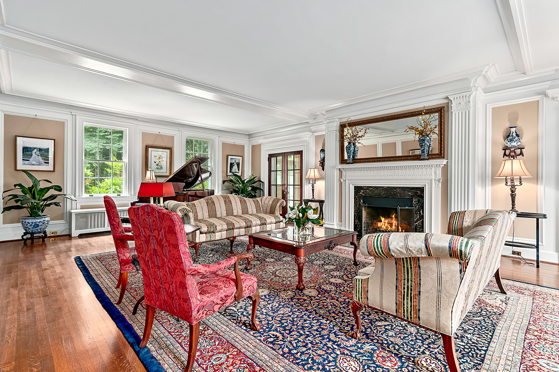 Additional photo for property listing at TIMELESS GEORGIAN IN BILTMORE FOREST 14  Eastwood Rd,  Biltmore Forest, North Carolina 28803 United States