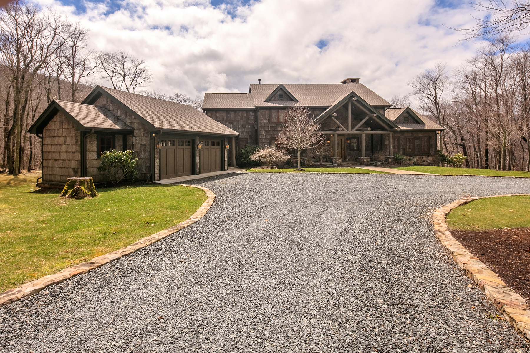 Single Family Home for Active at HEADWATERS OF CRESTON 888 Longhope Trail Creston, North Carolina 28615 United States