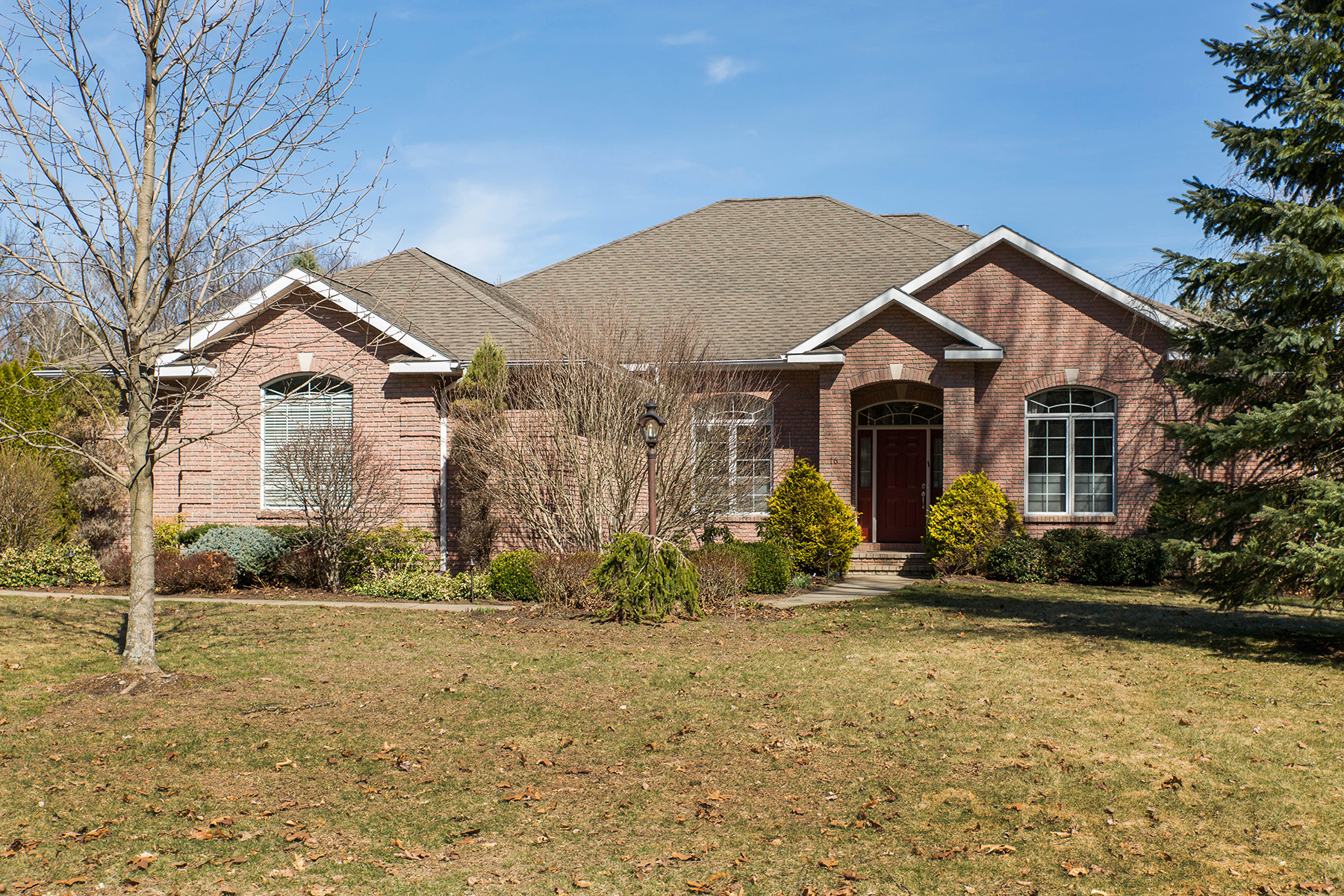 Single Family Home for Sale at Custom Ranch in Clifton Park 16 Siena Dr Clifton Park, New York 12065 United States