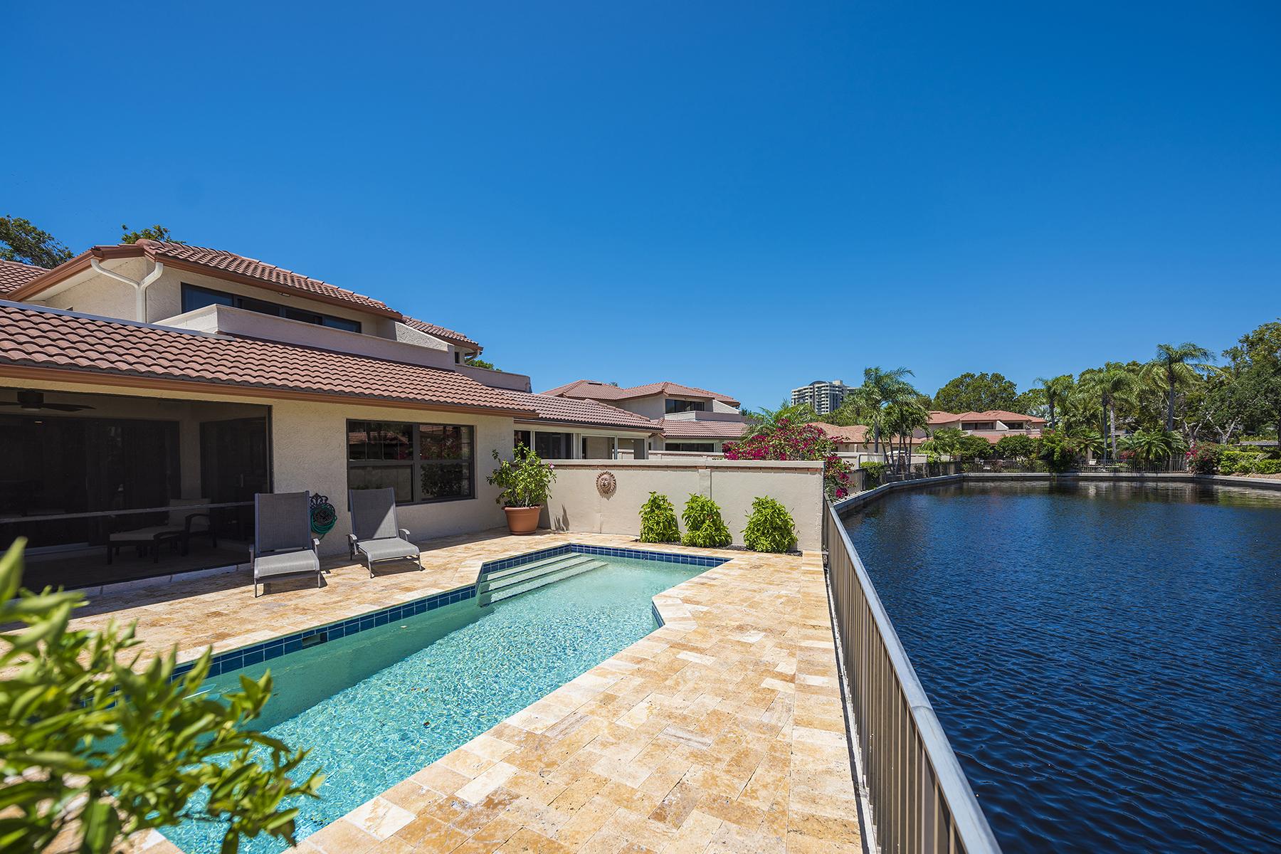 Single Family Home for Sale at PELICAN BAY - LUGANO 5908 Via Lugano, Naples, Florida 34108 United States