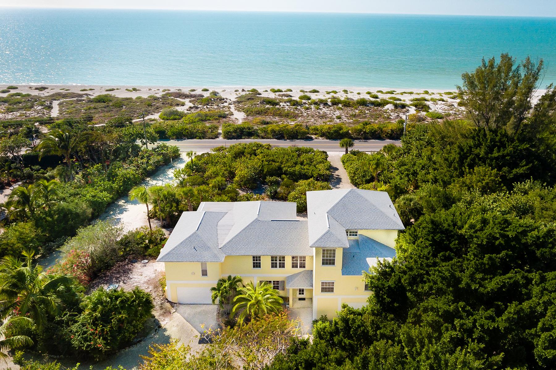 獨棟家庭住宅 為 出售 在 SANIBEL 13550 Palmflower Ln Captiva, 佛羅里達州, 33924 美國