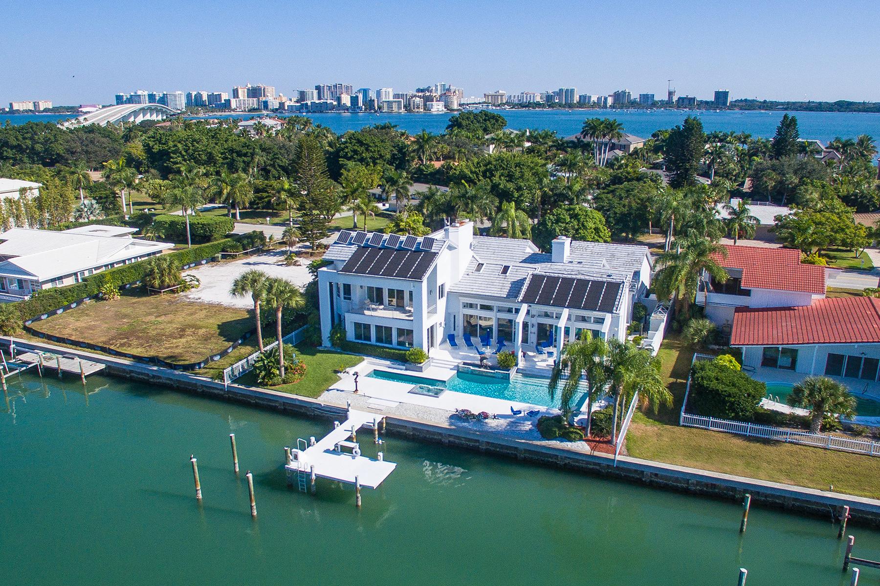 Maison unifamiliale pour l Vente à BIRD KEY 216 Bird Key Dr Bird Key, Sarasota, Florida, 34236 États-Unis