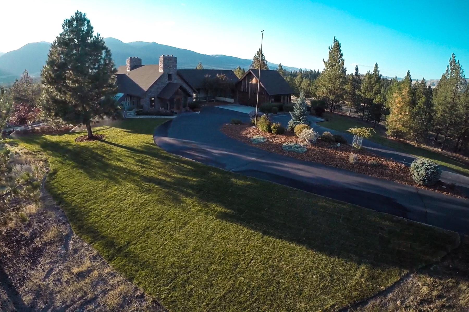 Maison unifamiliale pour l Vente à 540 El Capitan Loop , Stevensville, MT 59870 540 El Capitan Loop Stevensville, Montana, 59870 États-Unis