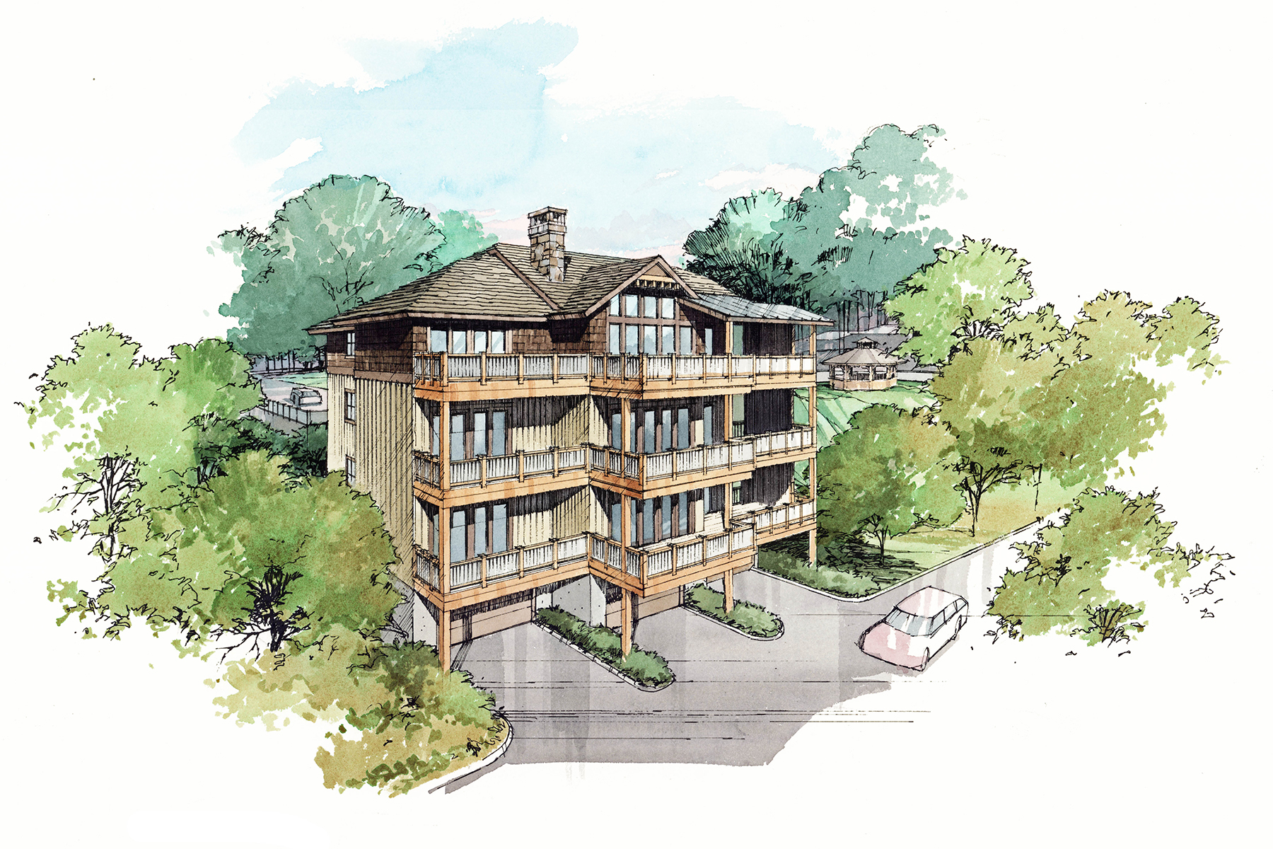 Condominium for Sale at WHERE MAIN STREET AND LUXURY MEET TBD Cone Vista Circle 6B, Blowing Rock, North Carolina 28605 United States