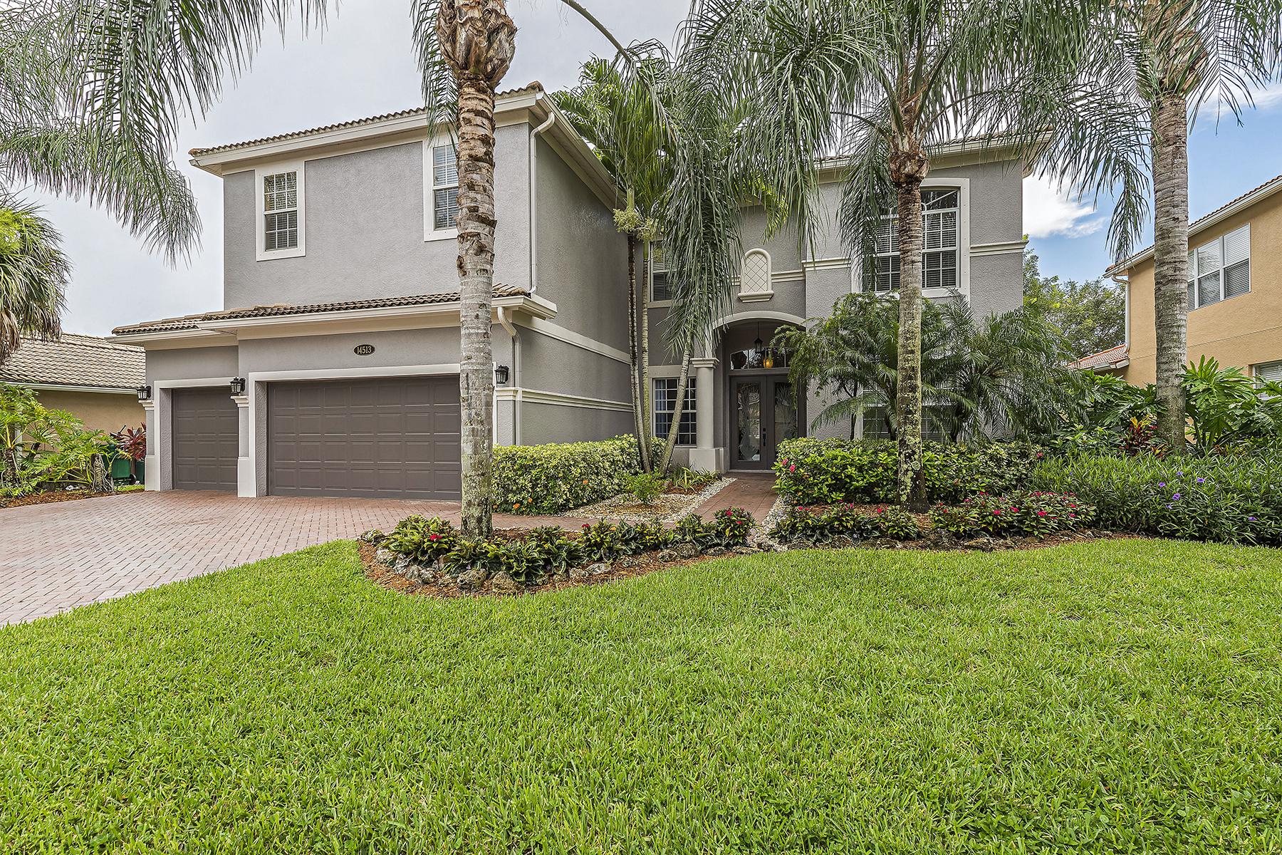 独户住宅 为 销售 在 INDIGO LAKES 14513 Indigo Lakes Cir, 那不勒斯, 佛罗里达州, 34119 美国