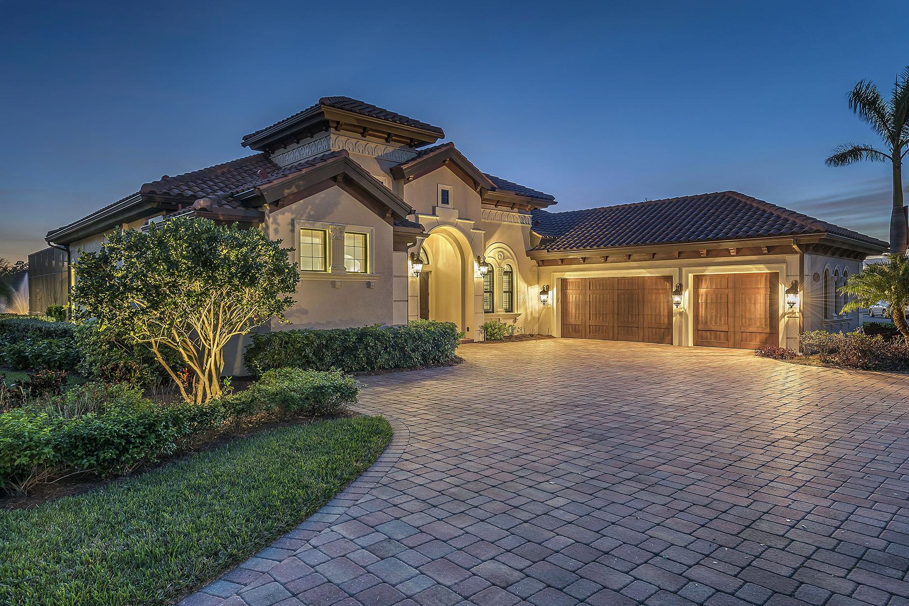 Частный односемейный дом для того Продажа на LELY RESORT 6474 Emilia Ct, Naples, Флорида, 34113 Соединенные Штаты