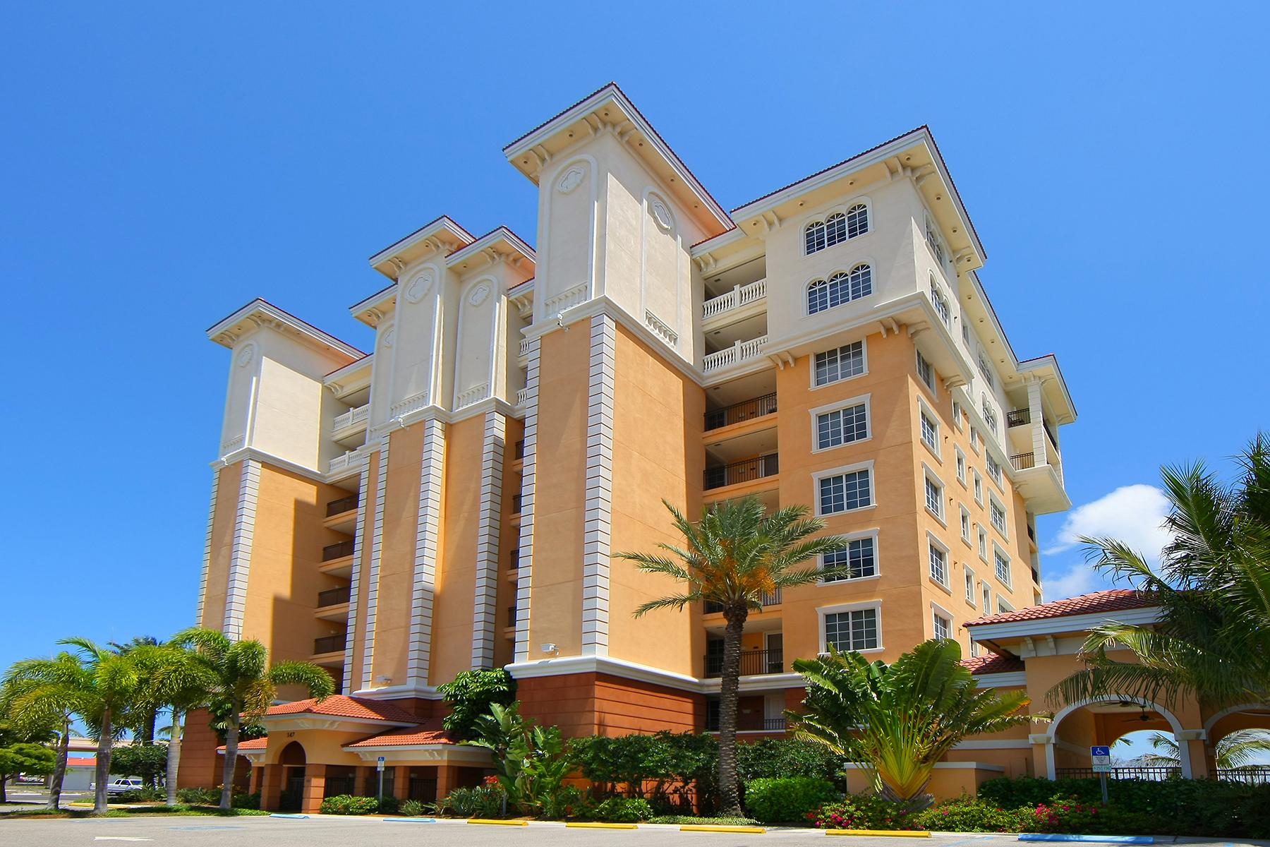Kat Mülkiyeti için Satış at WATERFRONT ON VENICE ISLAND 147 Tampa Ave E 802 Venice, Florida, 34285 Amerika Birleşik Devletleri
