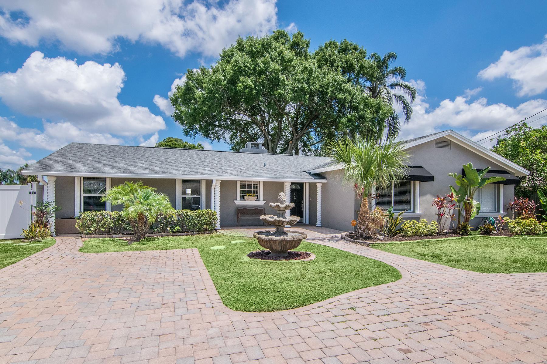 獨棟家庭住宅 為 出售 在 TAMPA 8703 Elmwood Ln Tampa, 佛羅里達州, 33615 美國