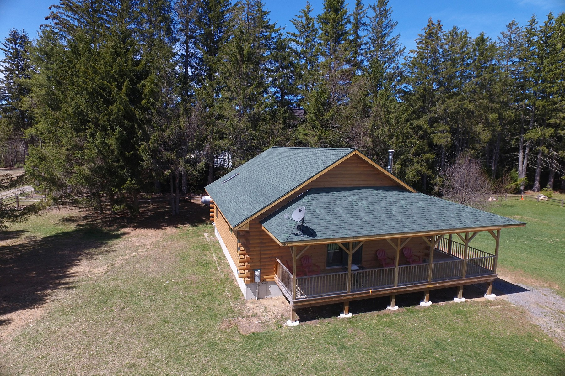 Additional photo for property listing at New Log Chalet 6  Bianca Rd Stony Creek, New York 12878 United States