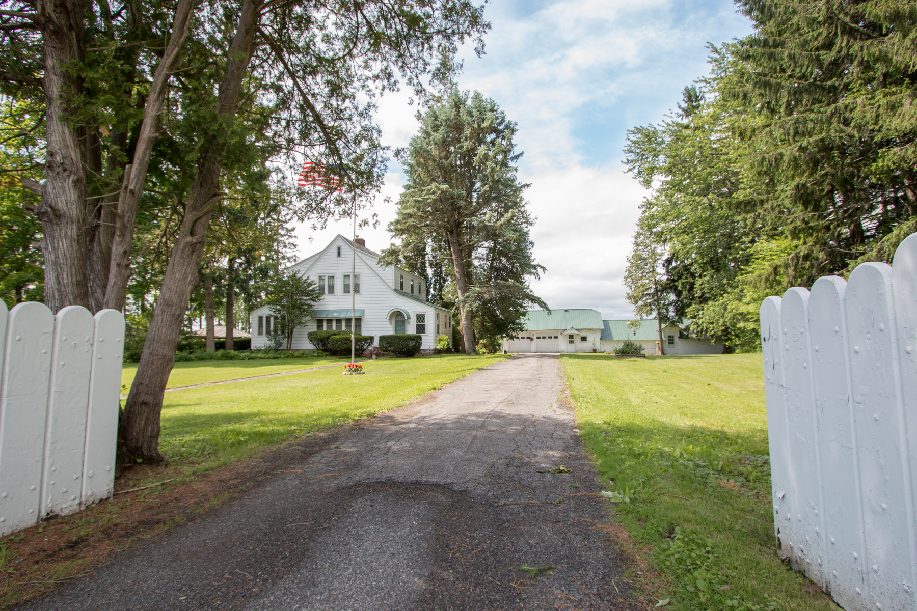 Single Family Home for Sale at Scenic Sprawling Country Estate with Views 2820 State Highway 67 Johnstown, New York 12095 United States