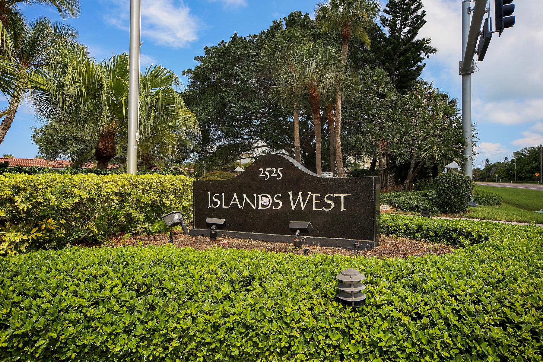Кондоминиум для того Аренда на LONGBOAT KEY - ISLAND'S WEST 2525 Gulf of Mexico Dr., #12A, Longboat Key, Флорида, 34228 Соединенные Штаты