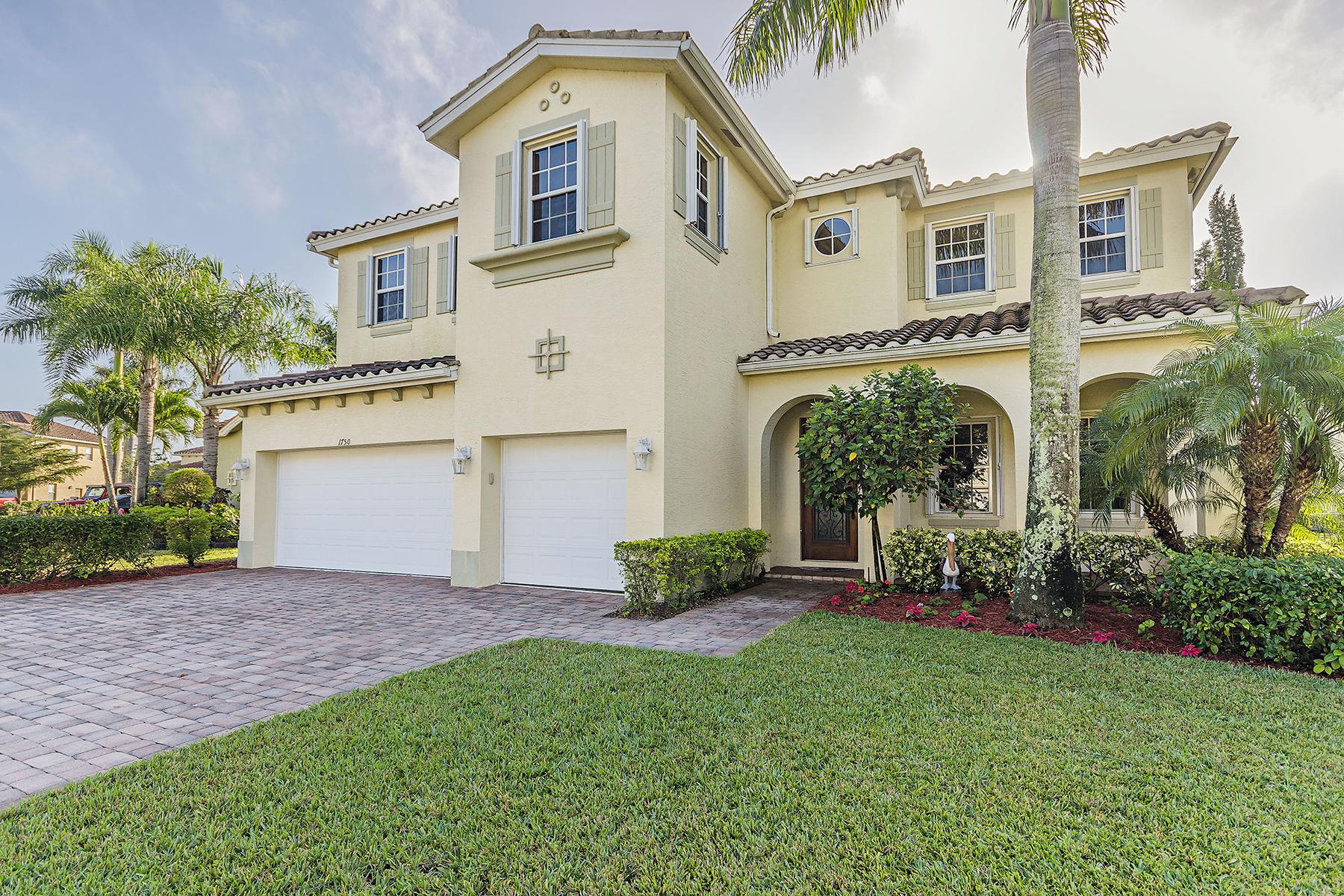 Частный односемейный дом для того Продажа на VALENCIA COUNTRY CLUB 1750 Sarazen Pl Naples, Флорида, 34120 Соединенные Штаты