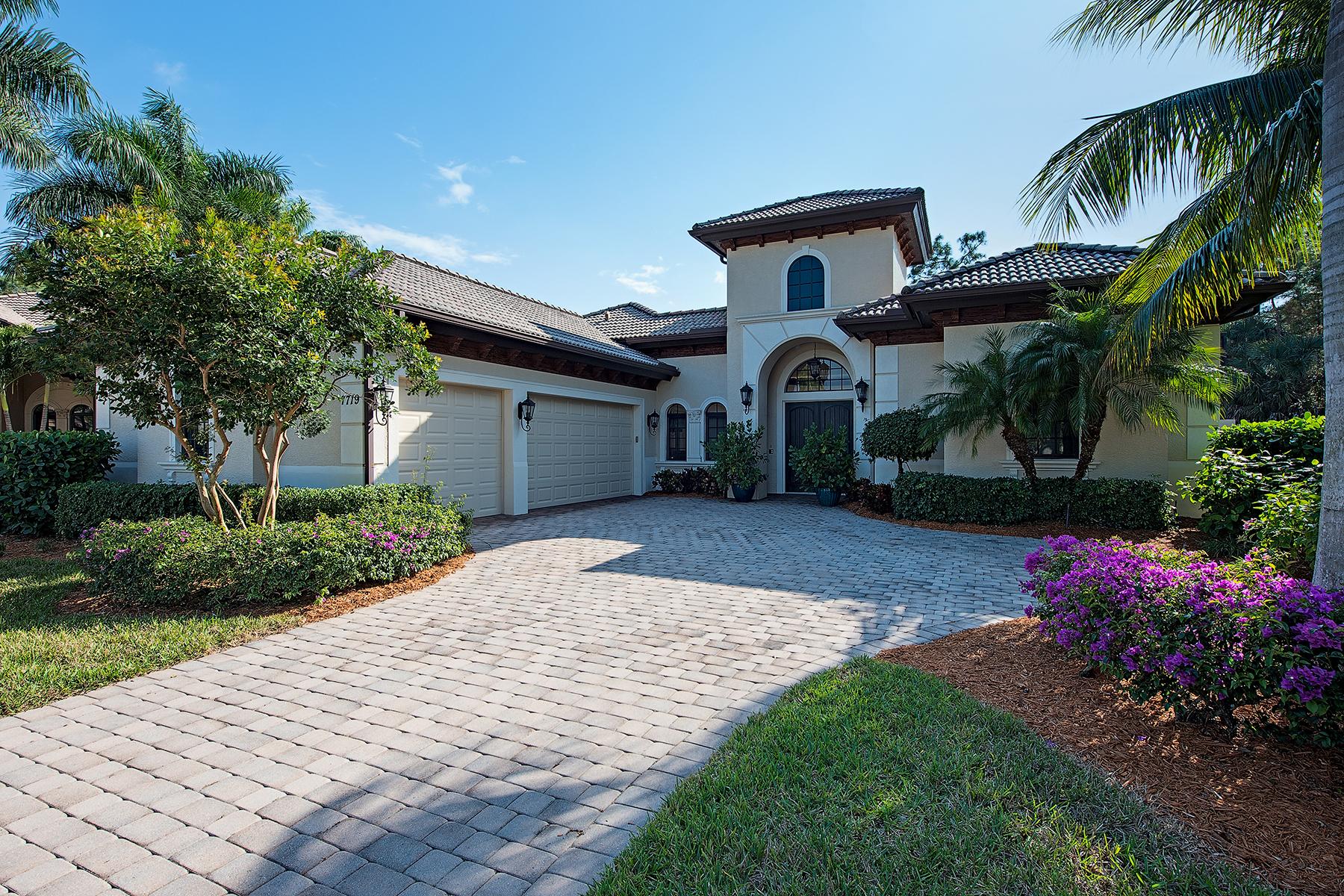 獨棟家庭住宅 為 出售 在 LELY RESORT - CLASSICS PLANTATION ESTATES 7719 Mickelson Ct Naples, 佛羅里達州, 34113 美國