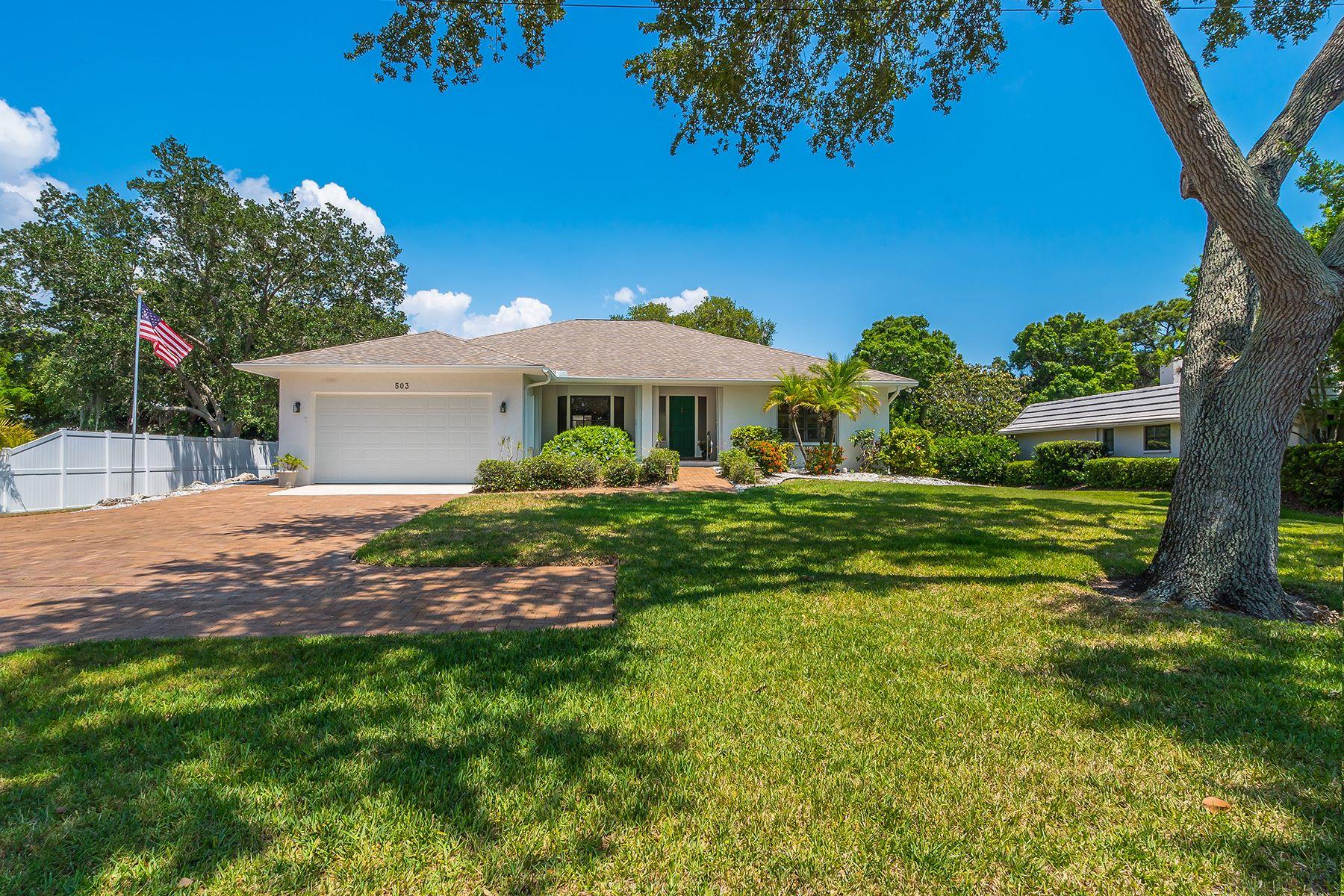 一戸建て のために 売買 アット BAY POINT 503 Lyons Bay Rd Nokomis, フロリダ, 34275 アメリカ合衆国
