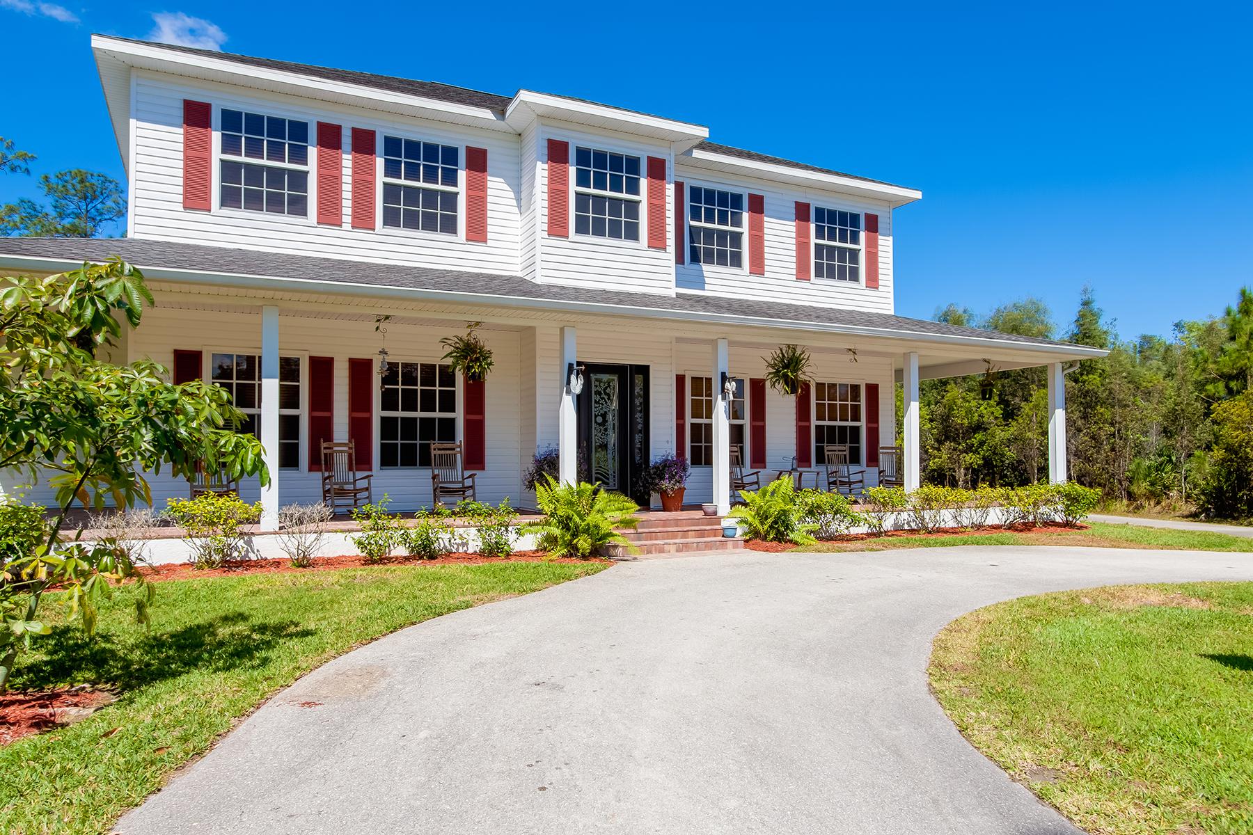 단독 가정 주택 용 매매 에 COLONIAL FARMS 12300 Cannon Ln Fort Myers, 플로리다, 33912 미국