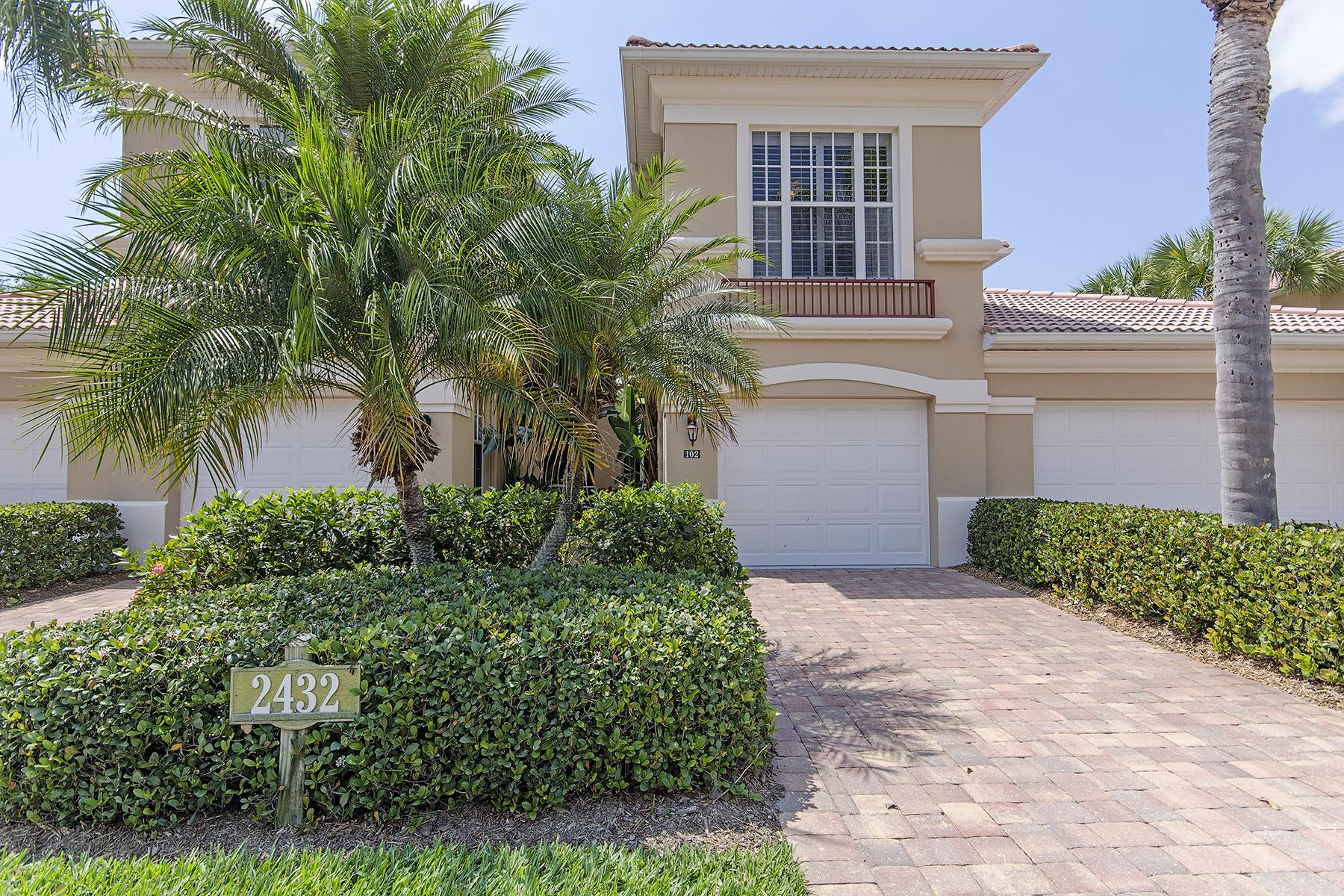 Appartement en copropriété pour l Vente à Naples 2432 Ravenna Blvd 4-102 Naples, Florida, 34109 États-Unis