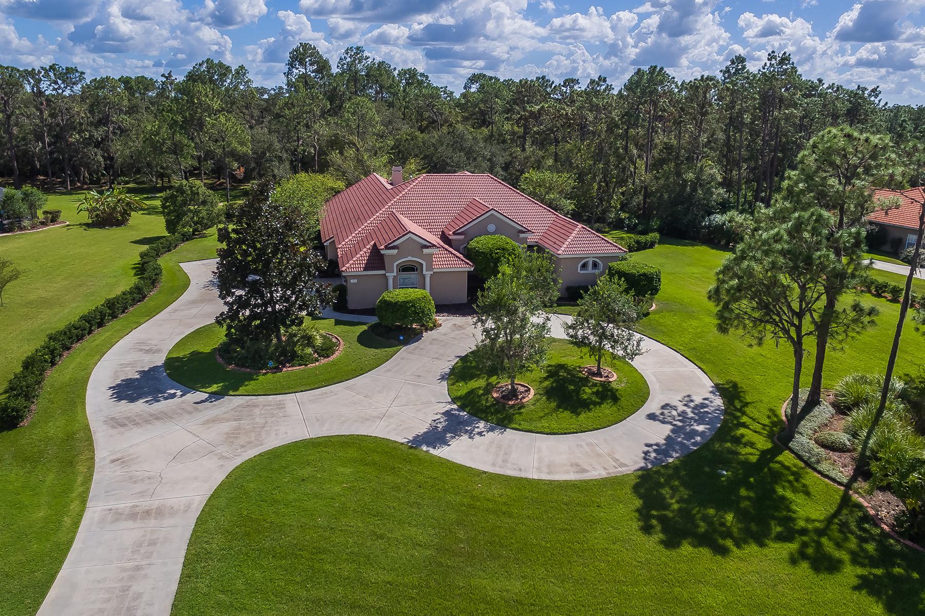 Частный односемейный дом для того Продажа на PRESERVE AT PANTHER RIDGE 21808 Deer Pointe, Bradenton, Флорида, 34202 Соединенные Штаты