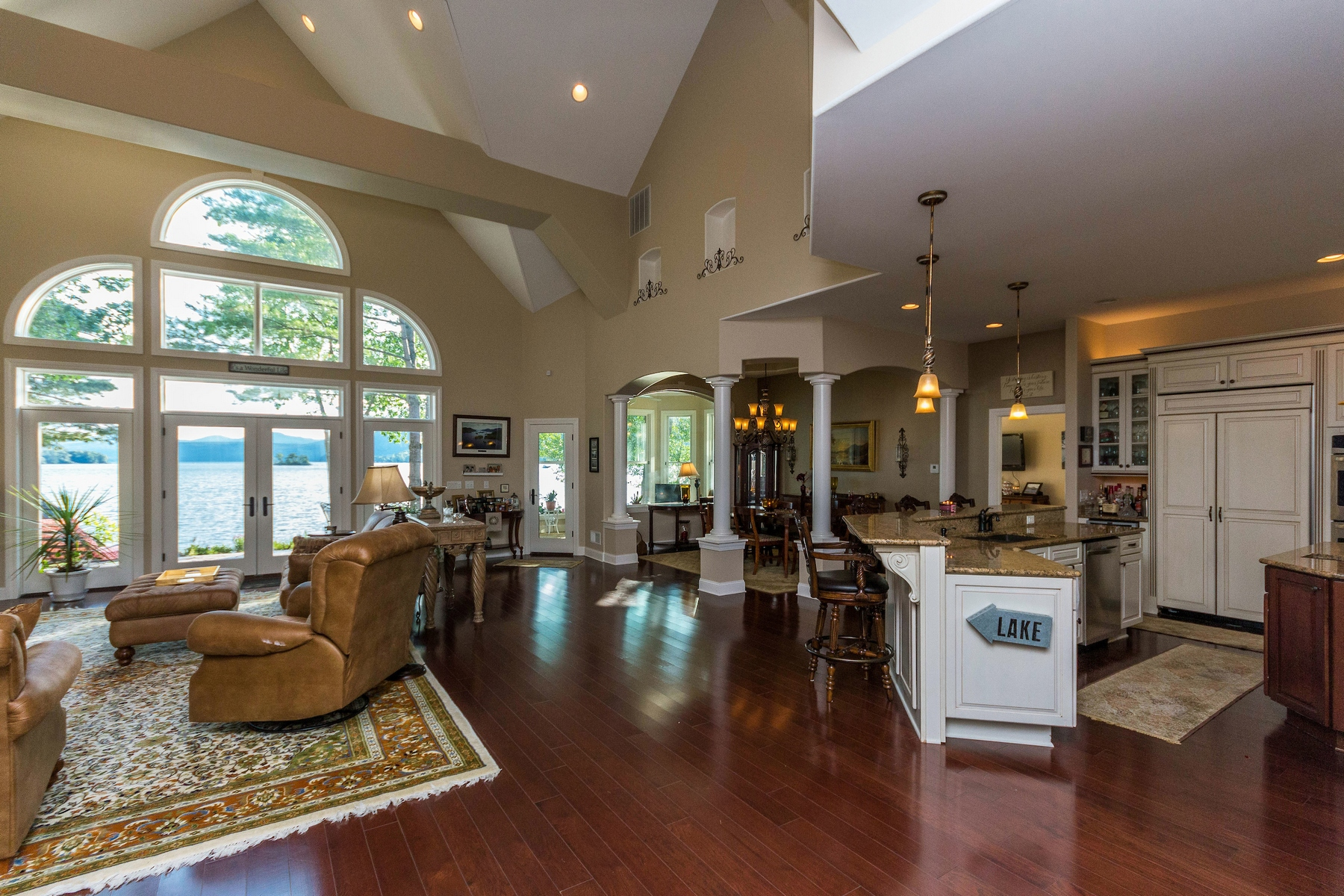 Additional photo for property listing at Custom Waterfront Home on Lake George 212  Black Point Road Ticonderoga, New York 12883 United States