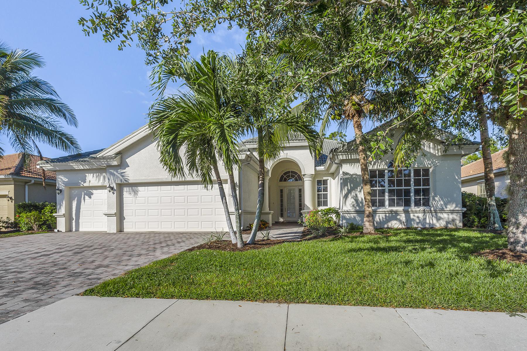 단독 가정 주택 용 매매 에 DELASOL 15985 Delarosa Ln, Naples, 플로리다, 34110 미국