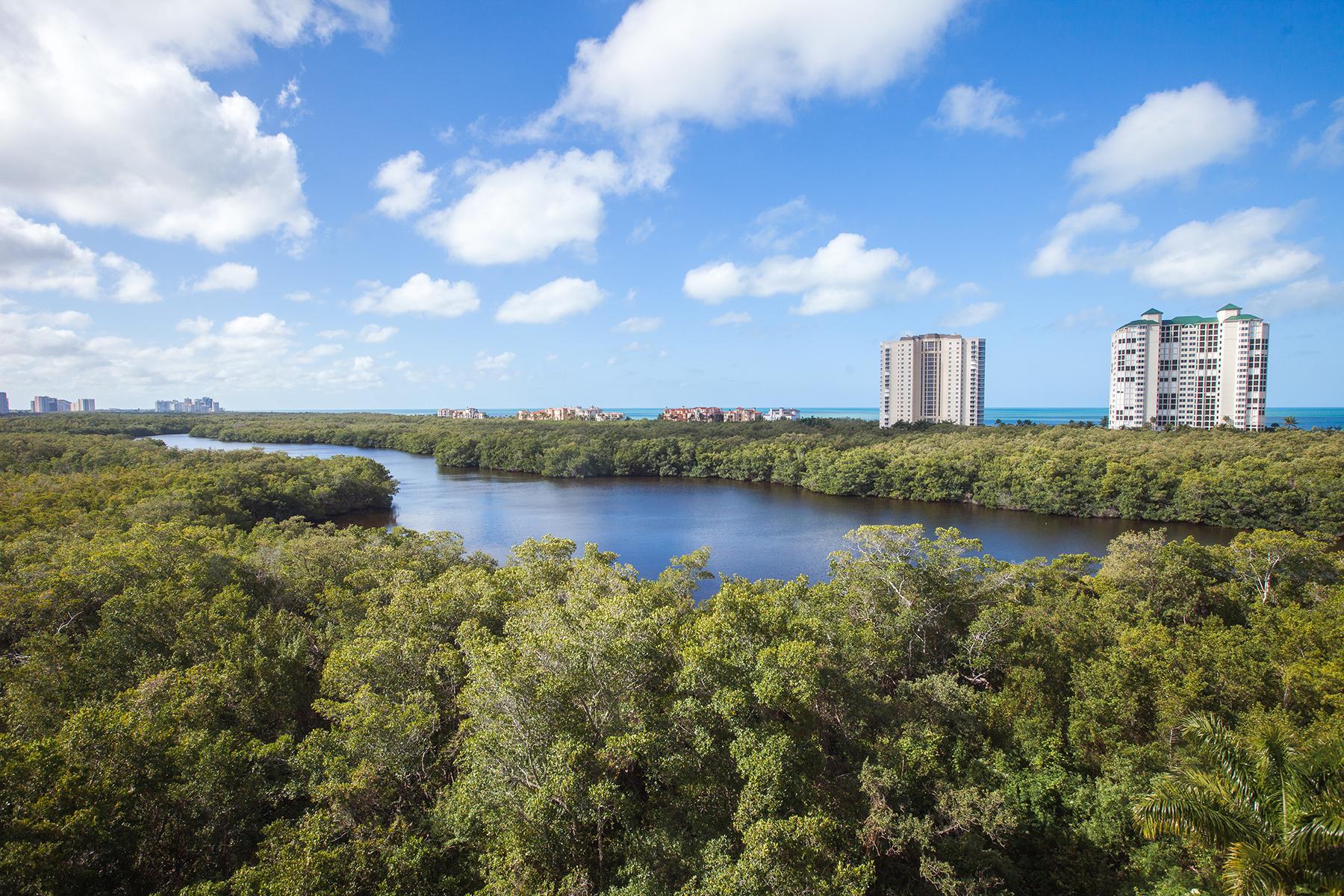 共管式独立产权公寓 为 销售 在 PELICAN BAY - MARQUESA AT BAY COLONY 8990 Bay Colony Dr 601 那不勒斯, 佛罗里达州, 34108 美国