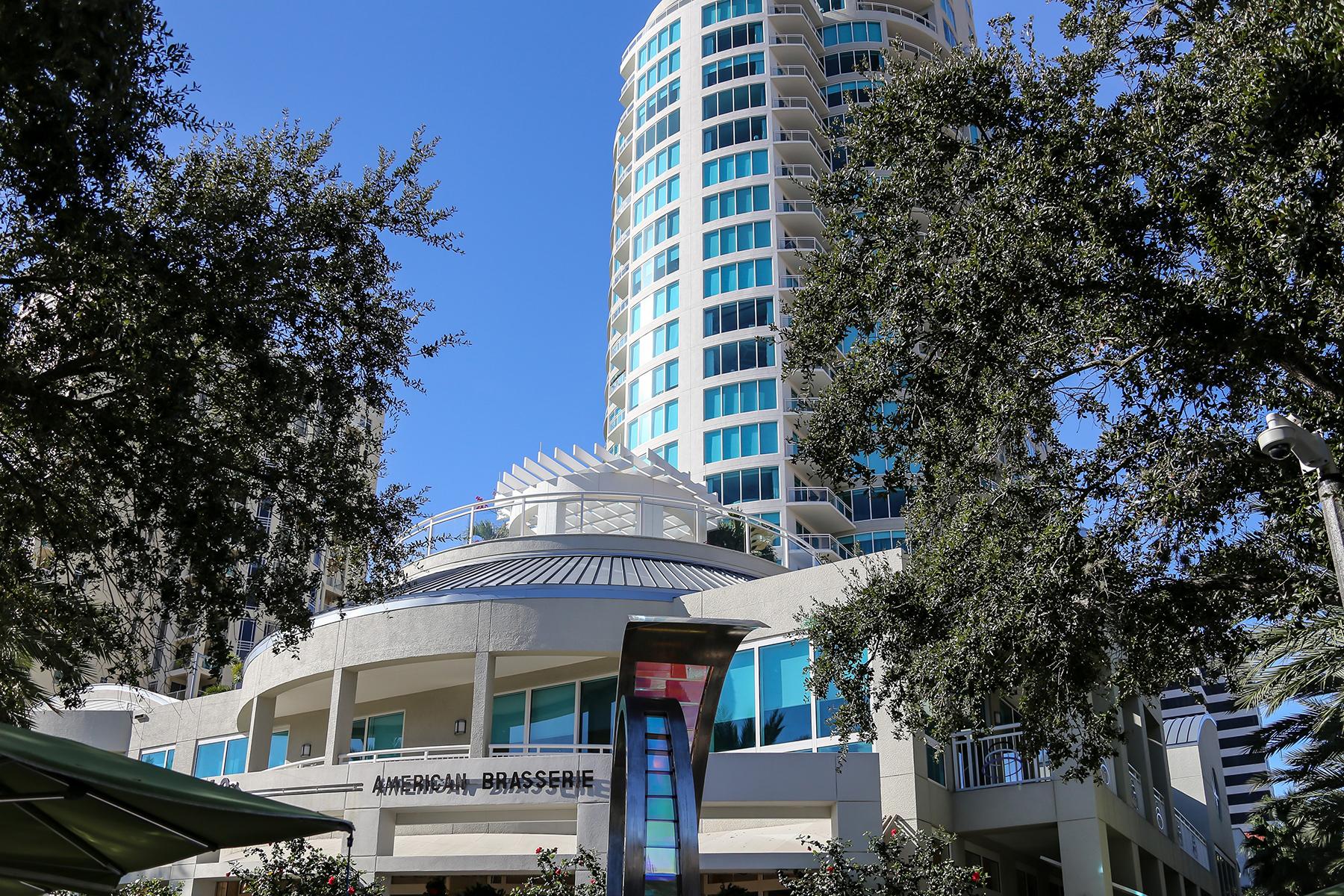 Appartement en copropriété pour l Vente à ST. PETERSBURG 180 Beach Dr NE 602 St. Petersburg, Florida 33701 États-Unis