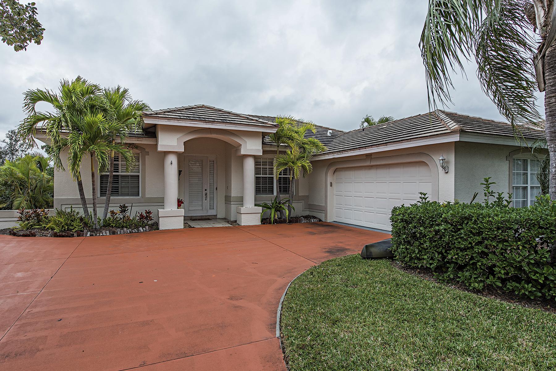 一戸建て のために 売買 アット LONGSHIRE LAKE - QUAIL WALK 10867 Fieldfair Dr, Naples, フロリダ, 34119 アメリカ合衆国