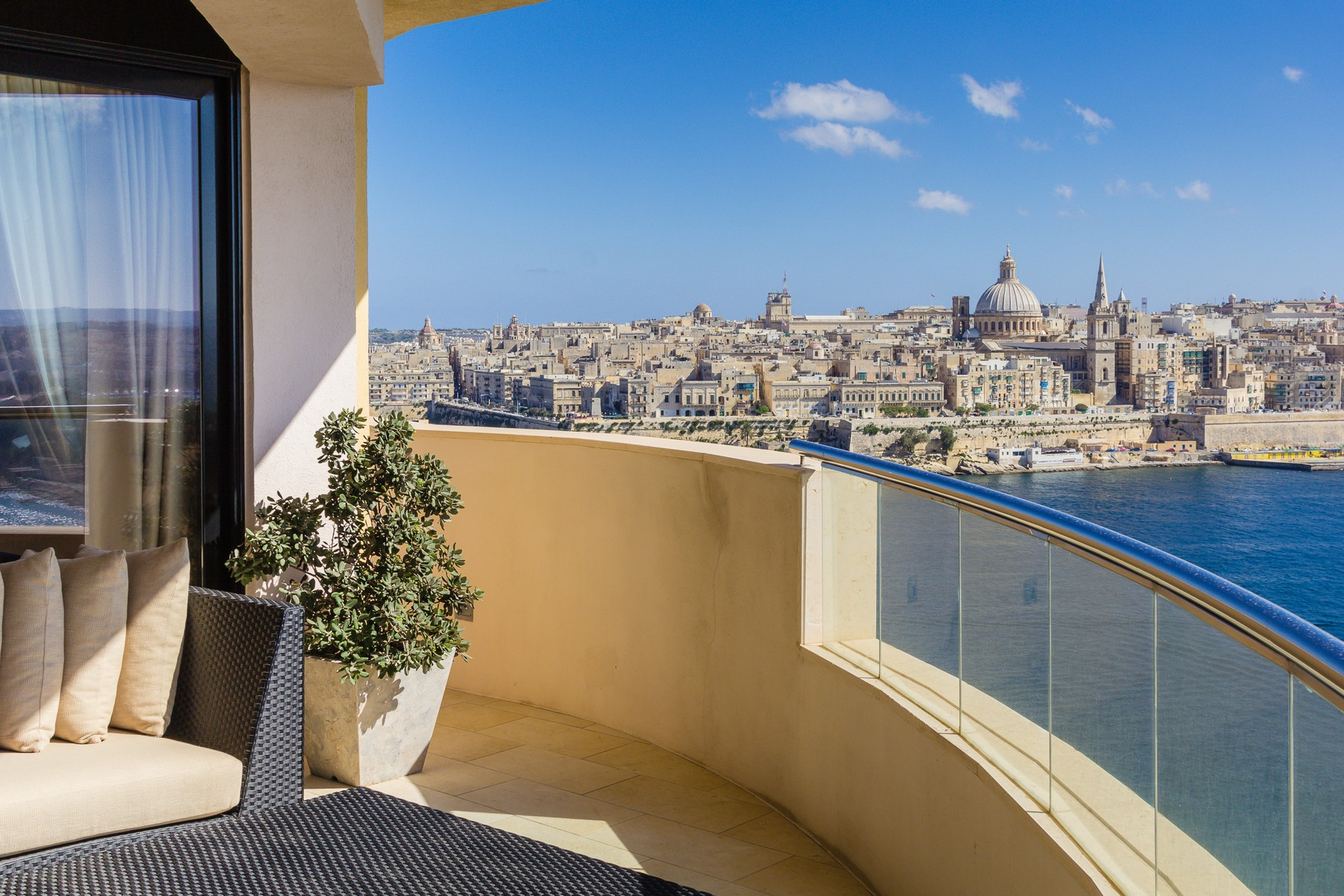 Apartment for Sale at Majestic Tigne Apartment With 360° Views Sliema, Malta