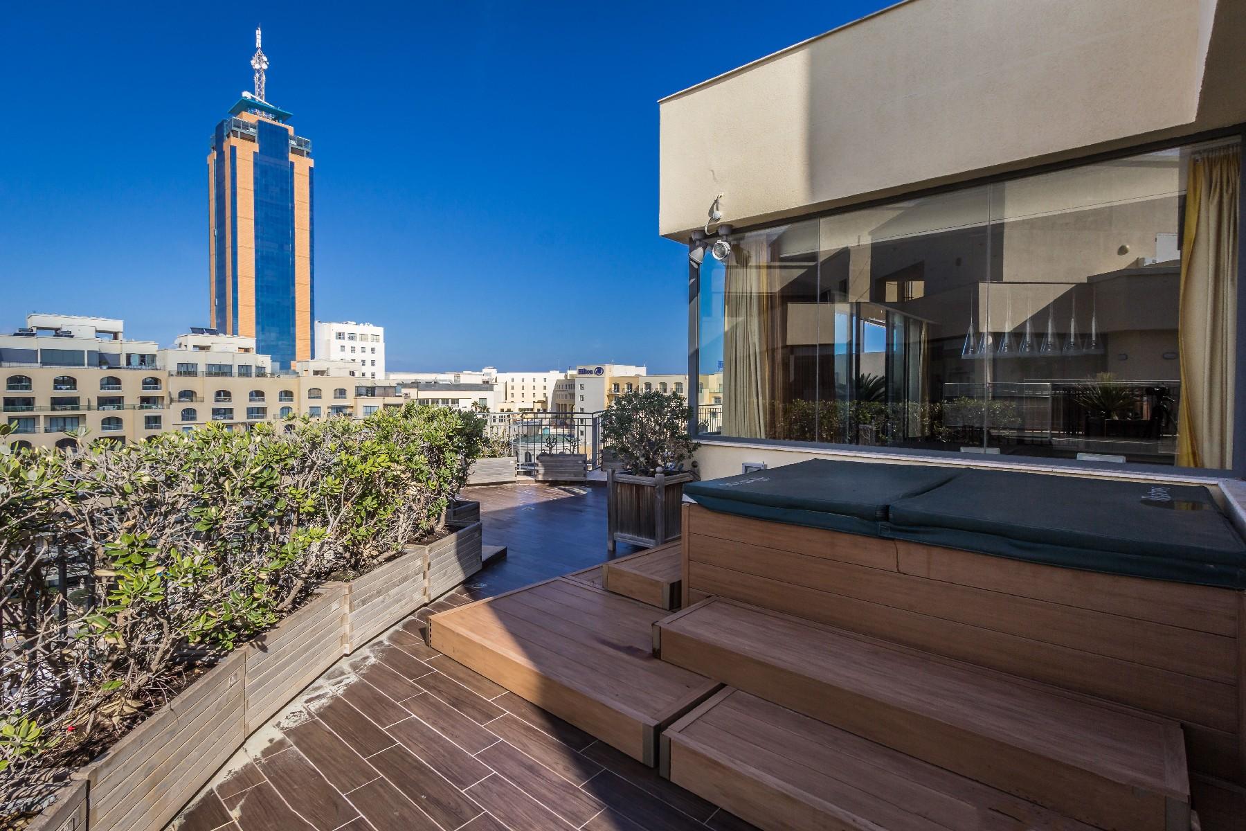 Apartment for Sale at Lifestyle Penthouse Portomaso, St. Julian's, Malta