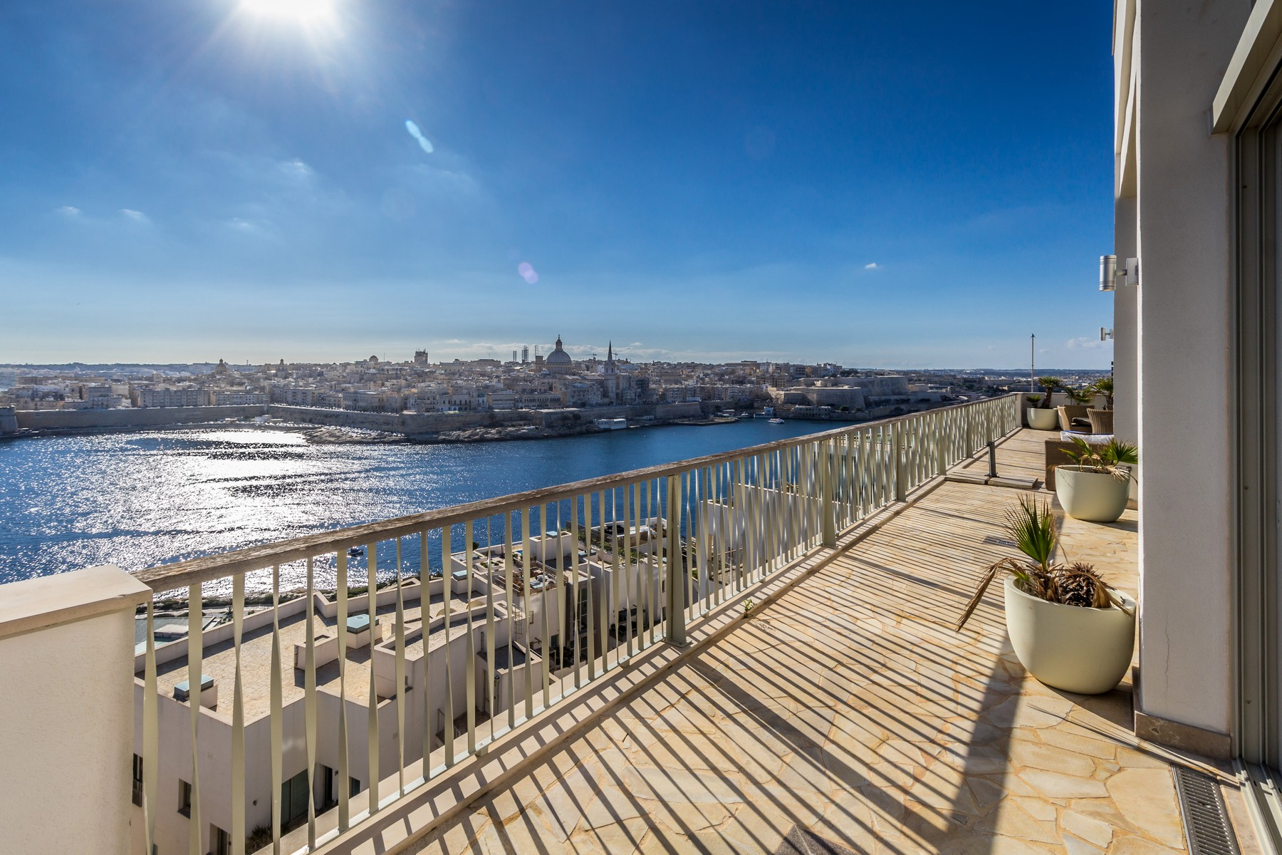 Apartment for Sale at Enchanting Penthouse Tigne Point, Sliema, Malta