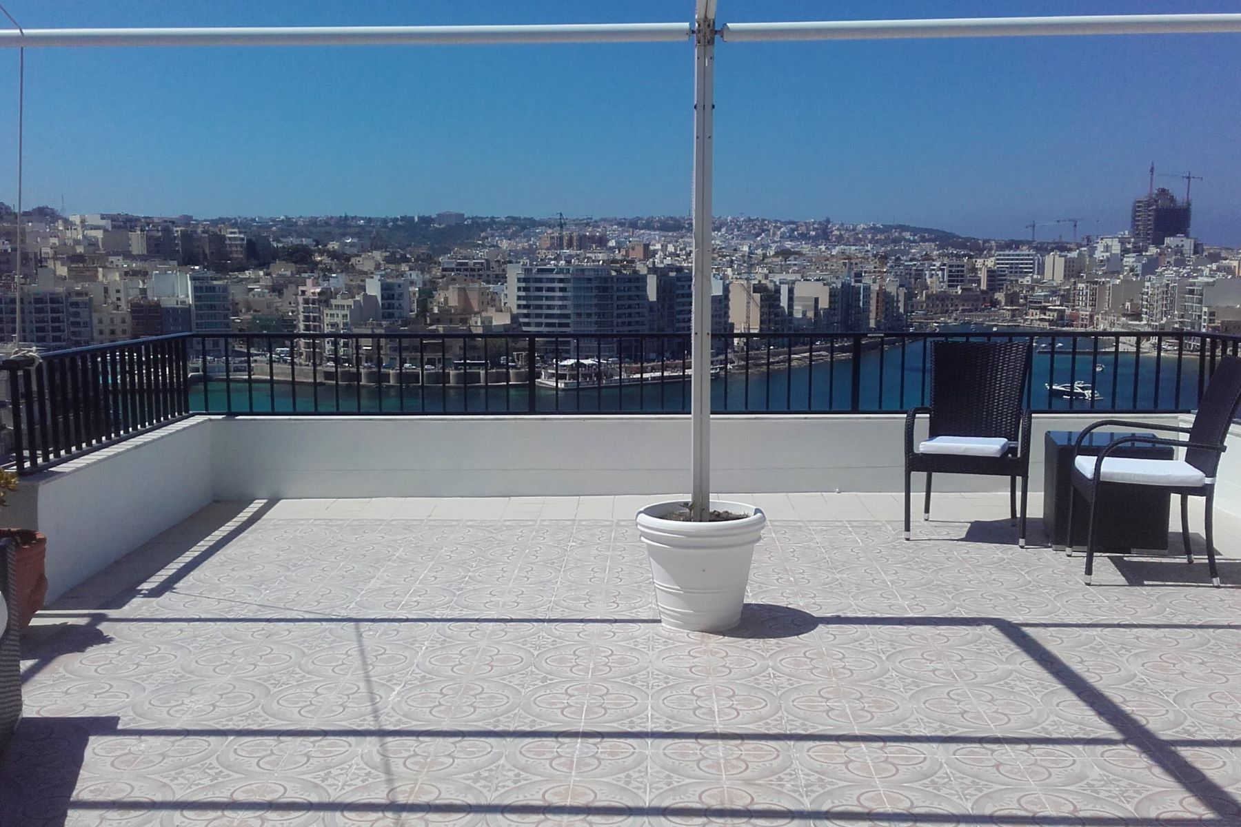 Apartment for Rent at Seafront Penthouse Sliema, Malta