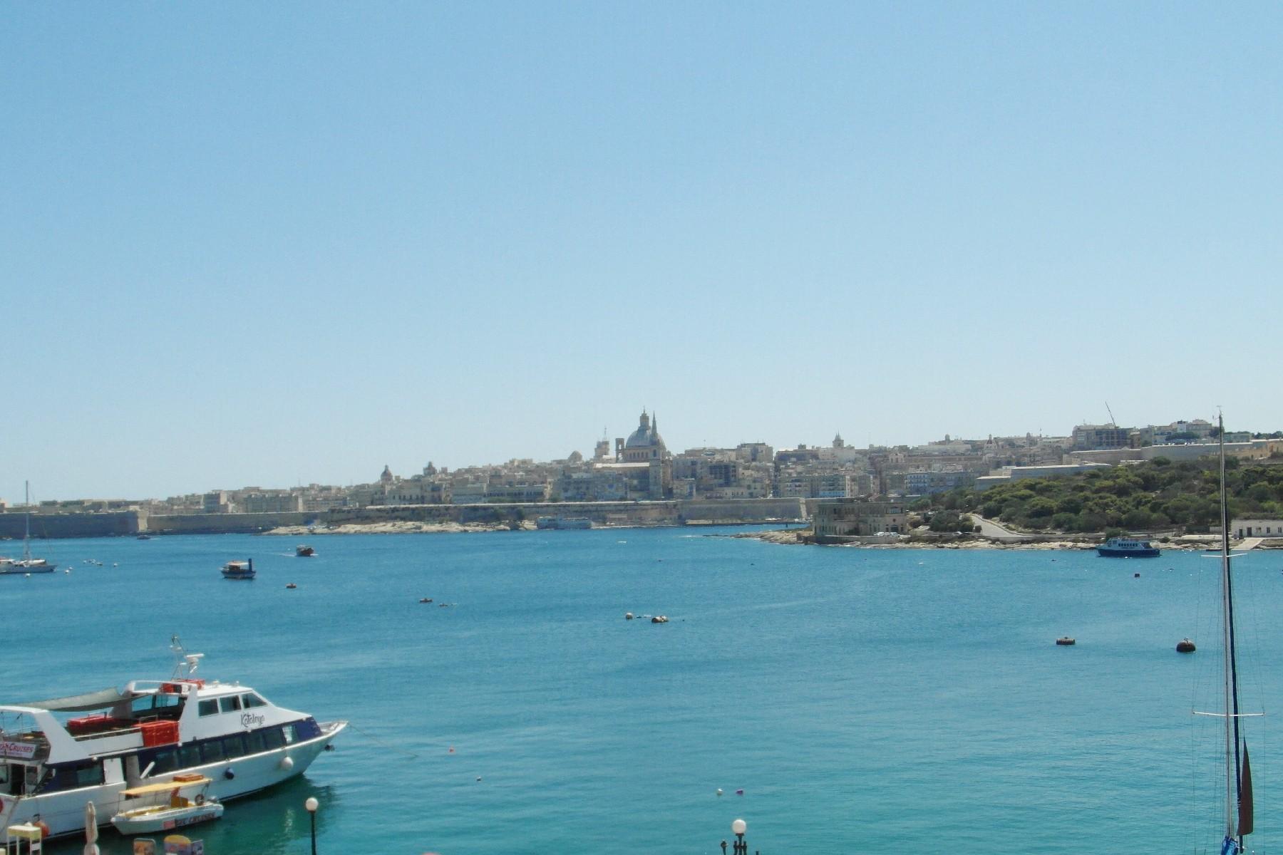 Apartment for Rent at Southfacing Seafront Apartment Sliema, Malta Malta