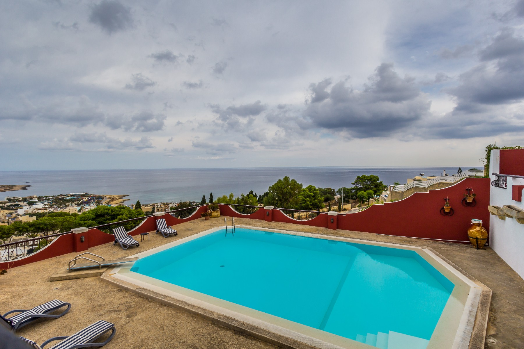 Single Family Home for Sale at Detached Seaview Villa with Pool Madliena, Malta
