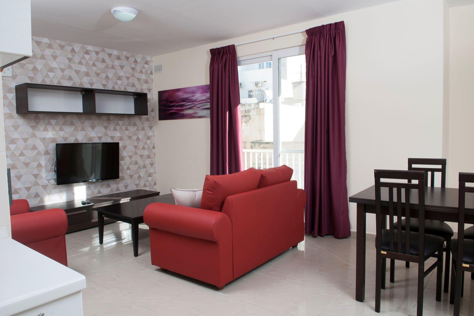 Apartment for Rent at Modern Apartment Sliema, Malta Malta