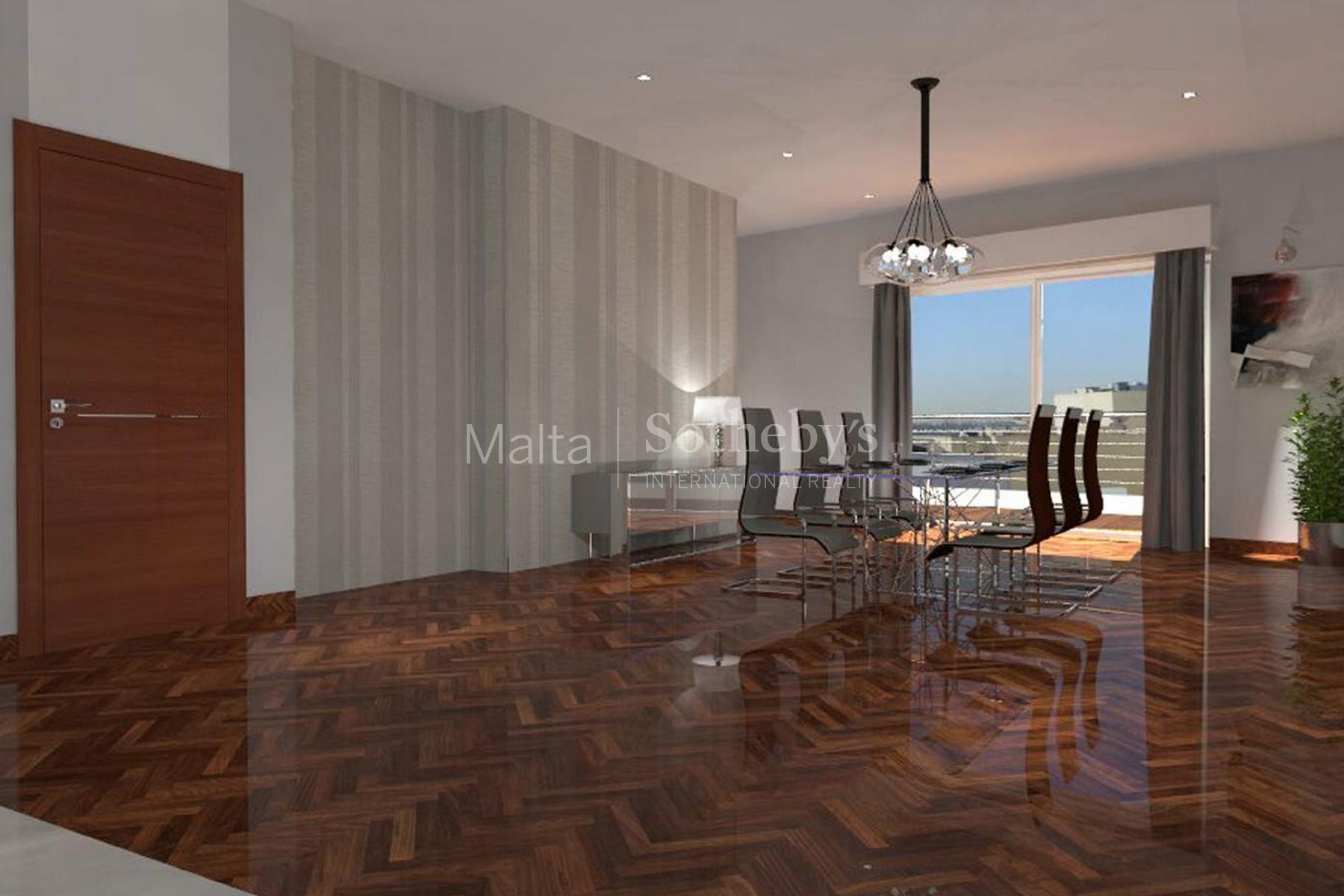公寓 为 销售 在 On-Plan Penthouse with Pool Sliema, 马尔他