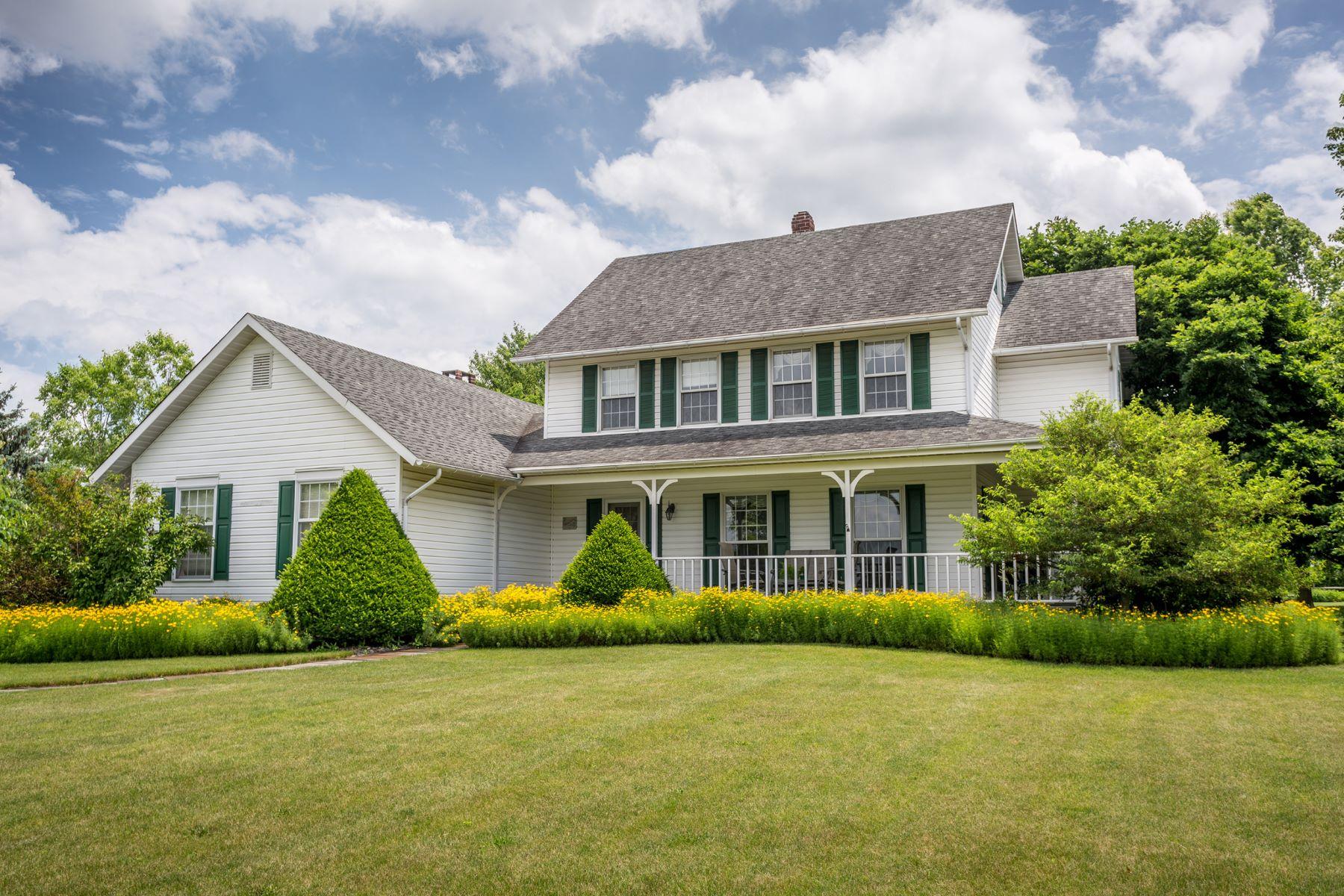 Частный односемейный дом для того Продажа на 5758 Township Line Rd Pipersville, Пенсильвания, 18947 Соединенные Штаты