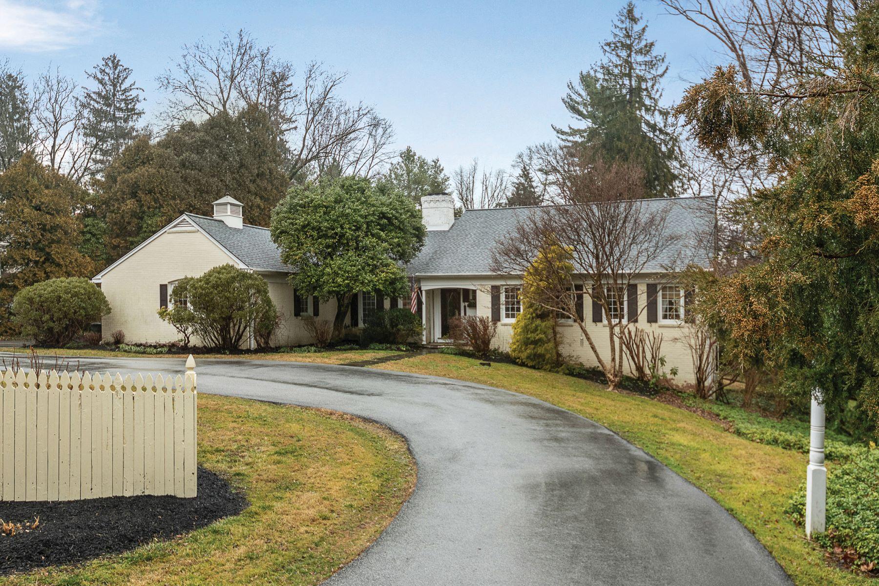 Single Family Homes por un Venta en 517 OLD GULPH RD Bryn Mawr, Pennsylvania 19010 Estados Unidos