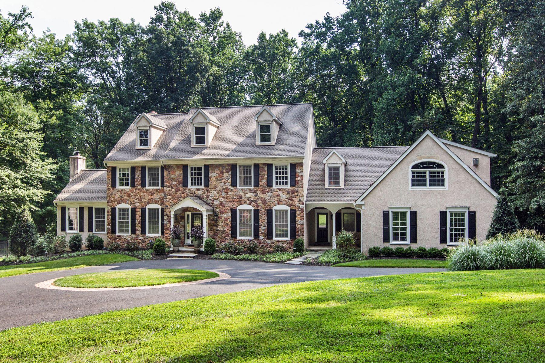 Maison unifamiliale pour l Vente à Refined & Rustic 2980 ASH MILL RD Doylestown, Pennsylvanie, 18902 États-Unis