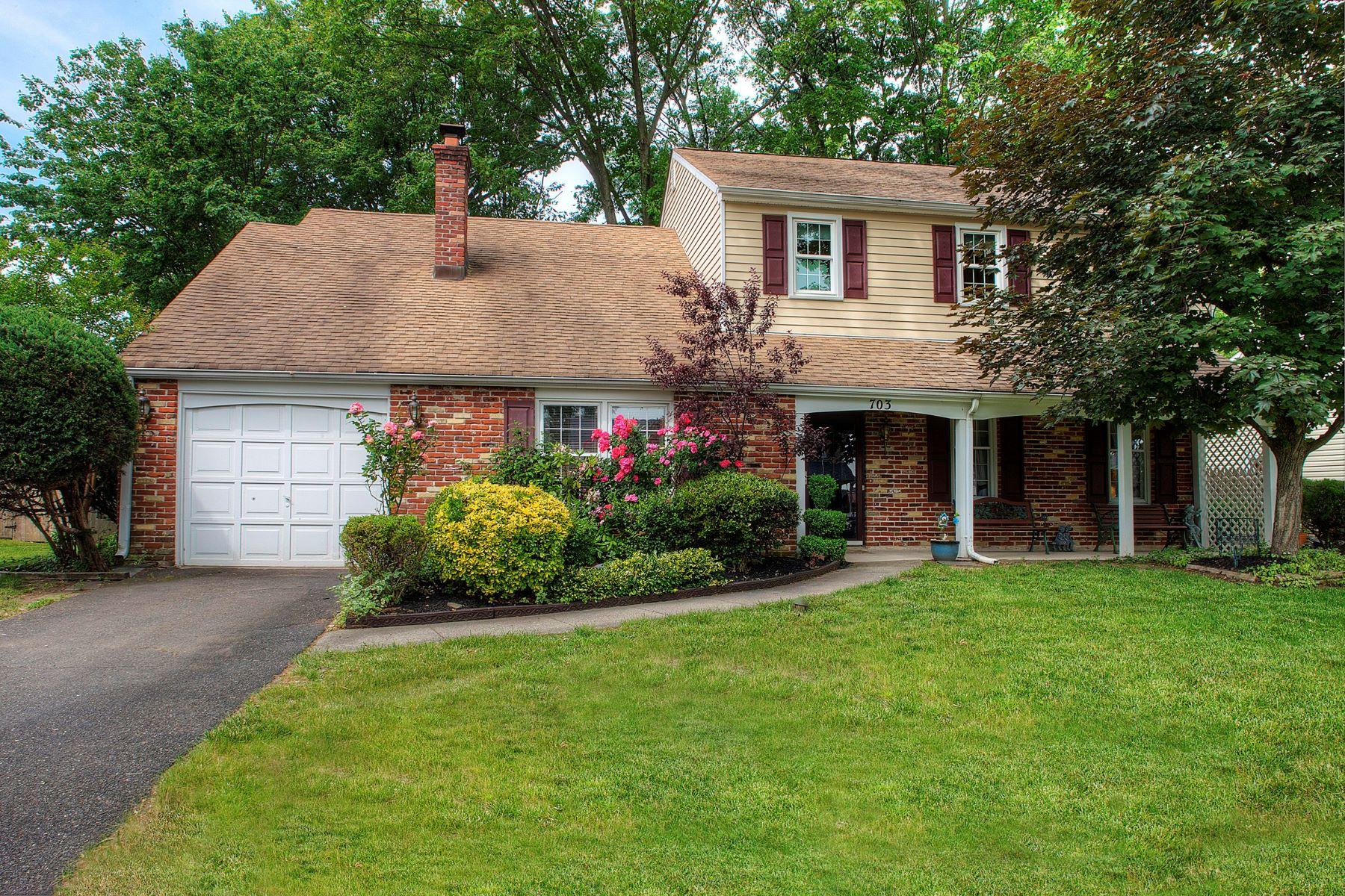 Single Family Homes for Sale at 703 FAIRBRIDGE DR Fairless Hills, Pennsylvania 19030 United States