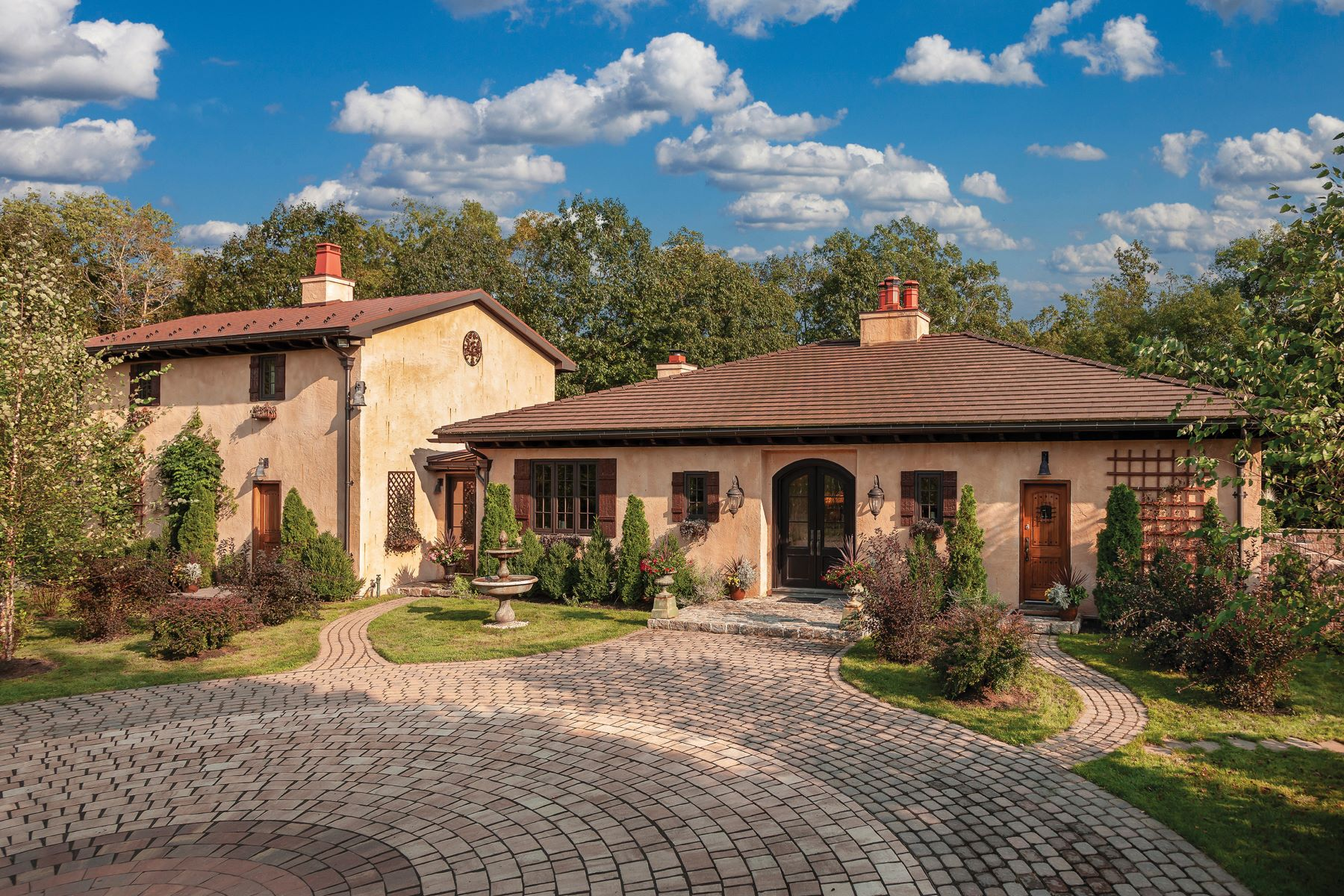 Single Family Homes for Sale at Tuscan Masterpiece 465 CAFFERTY RD, Erwinna, Pennsylvania 18920 United States