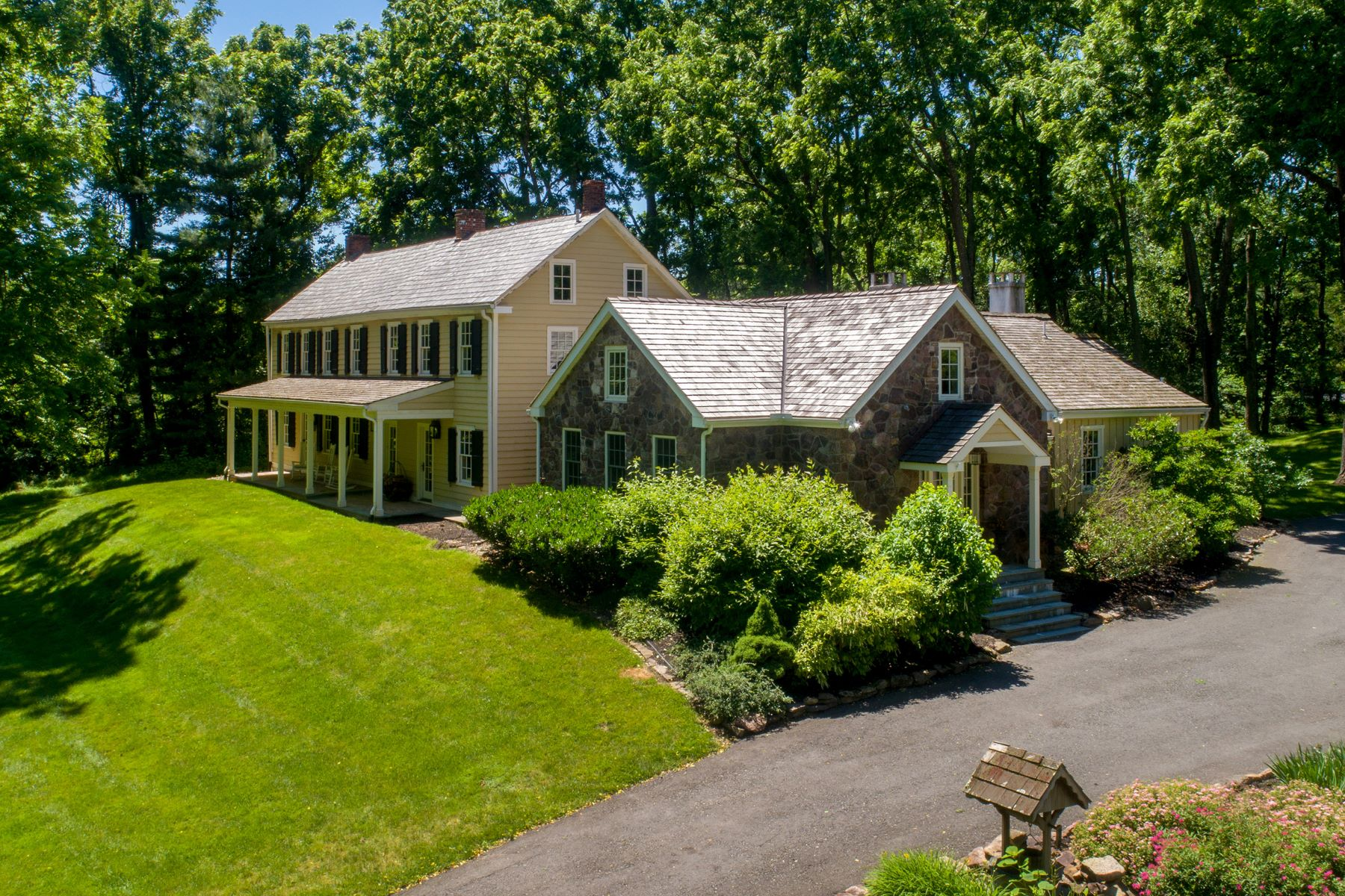 Single Family Homes for Sale at 5955 SAWMILL RD Solebury Township, Pennsylvania 18902 United States
