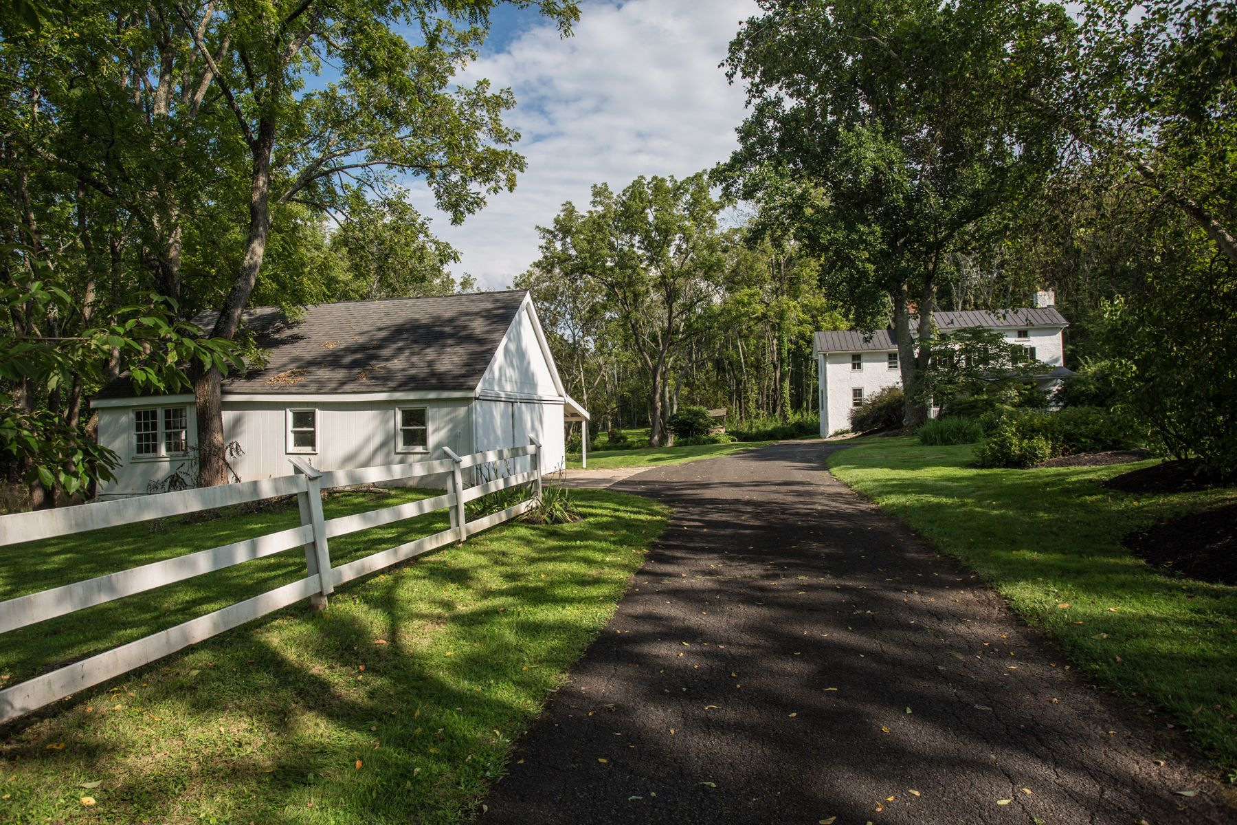 Single Family Home for Rent at Circa 1850 Farmhouse for Lease 3609 CREAMERY RD, Furlong, Pennsylvania 18925 United States