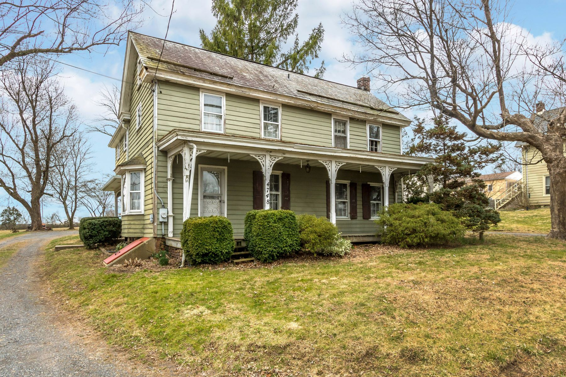 Single Family Homes for Sale at 4748 OLD EASTON RD Doylestown, Pennsylvania 18901 United States