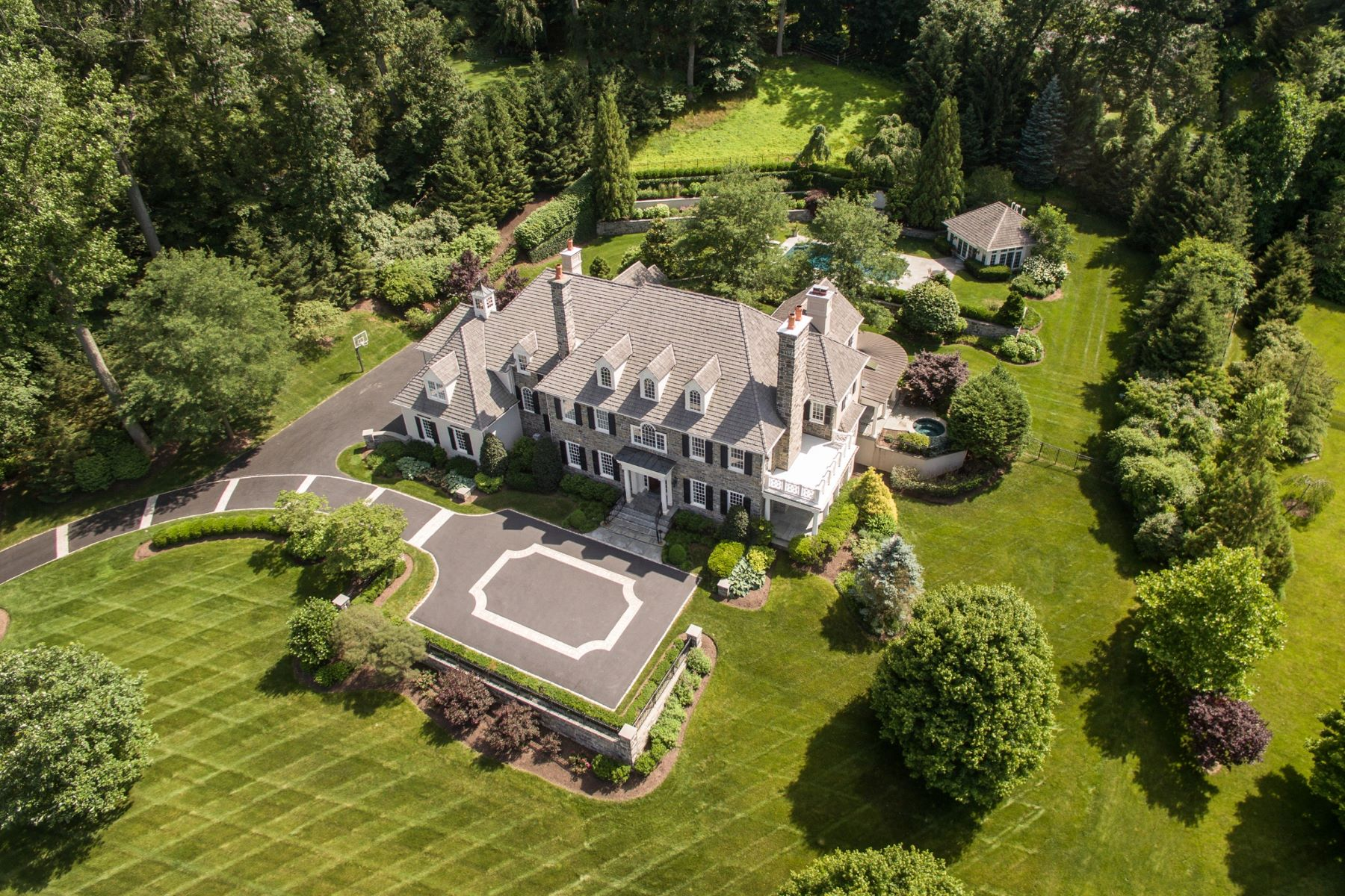 Single Family Home for Sale at Exceptional Residence 103 MILL VIEW LN Newtown Square, Pennsylvania 19073 United States