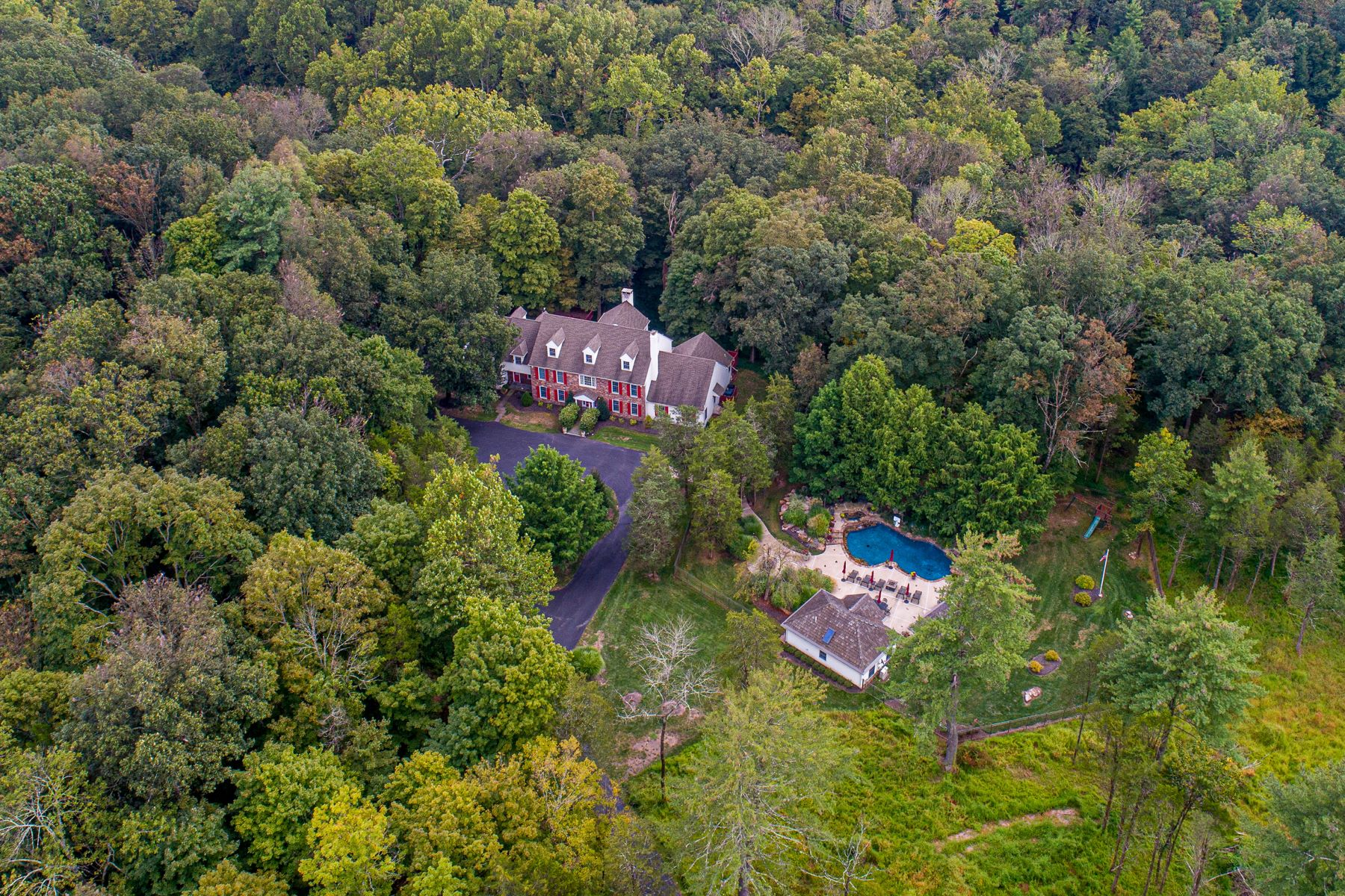Single Family Homes for Sale at Erwinna, Pennsylvania 18920 United States