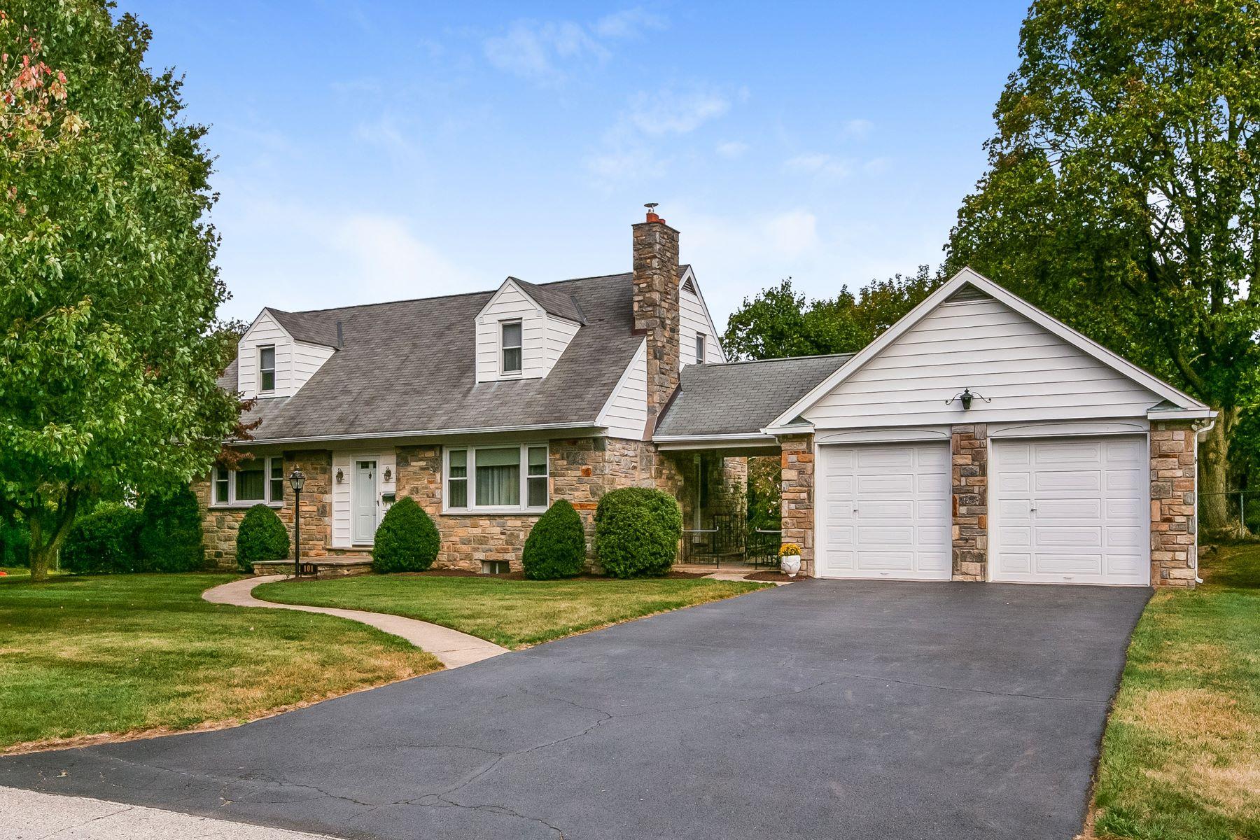 Single Family Homes للـ Sale في Cheltenham, Pennsylvania 19012 United States