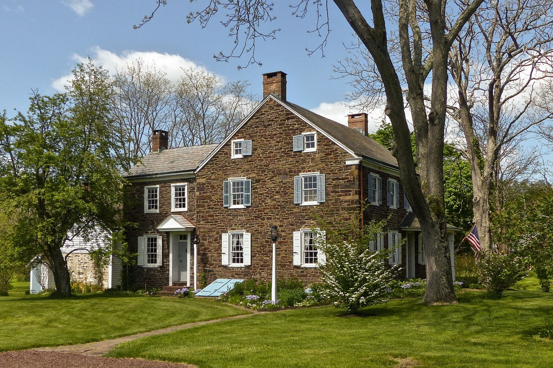 Single Family Home for Sale at Historic PA German Farmstead 721 HEADQUARTERS RD Ottsville, Pennsylvania 18942 United States