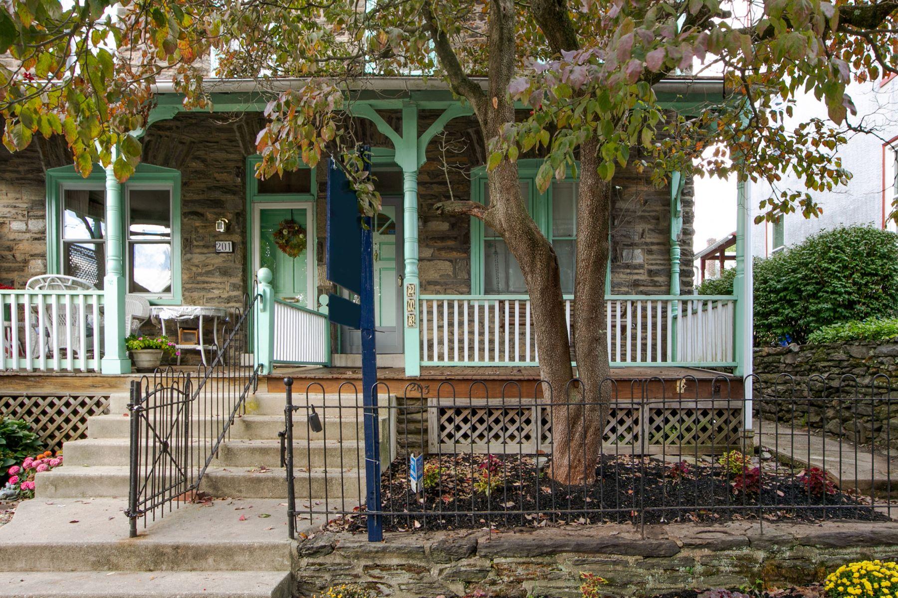 townhouses のために 売買 アット Philadelphia, ペンシルベニア 19118 アメリカ