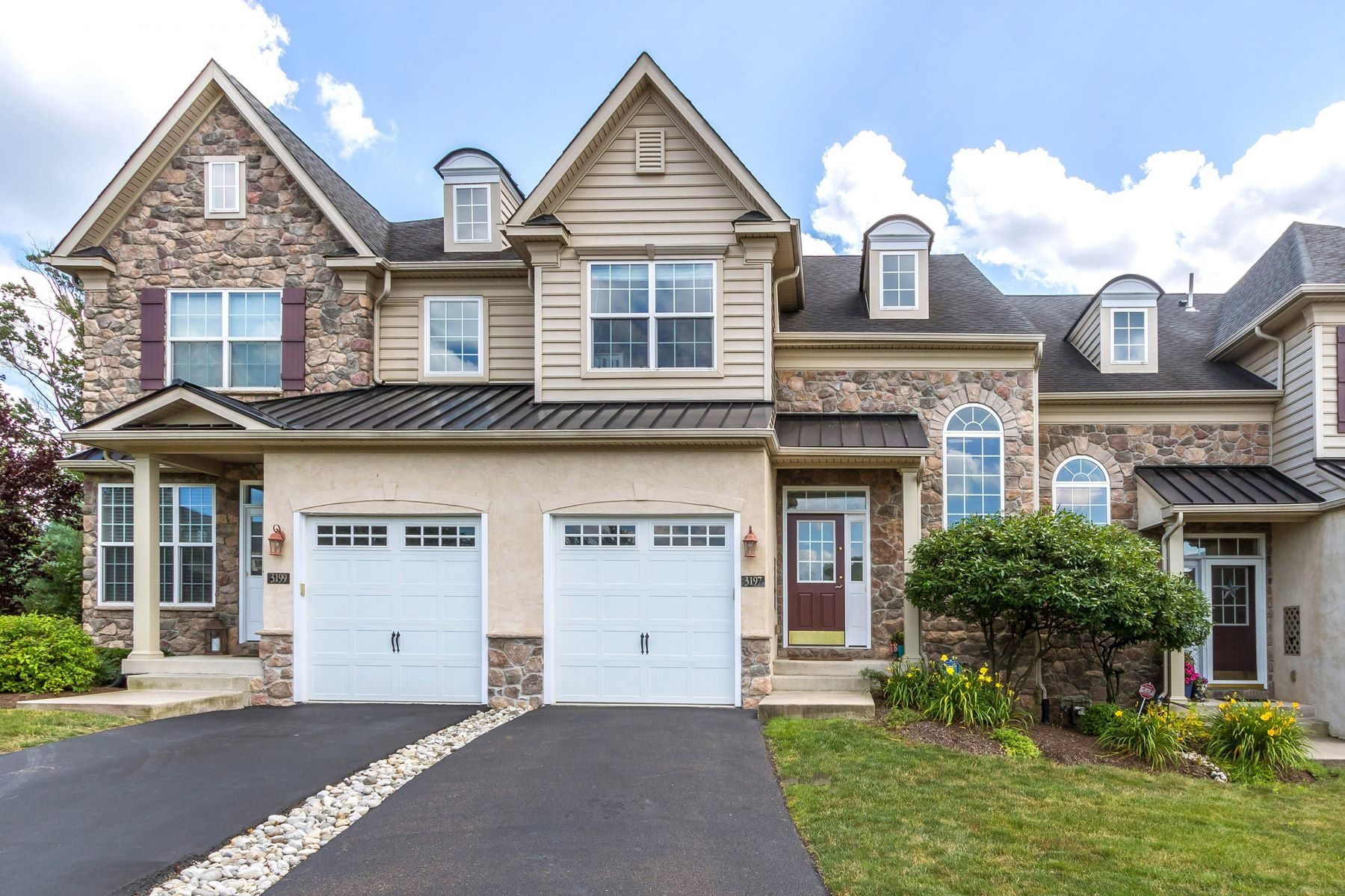 townhouses for Sale at 3197 MEADOW VIEW CIR Furlong, Pennsylvania 18925 United States