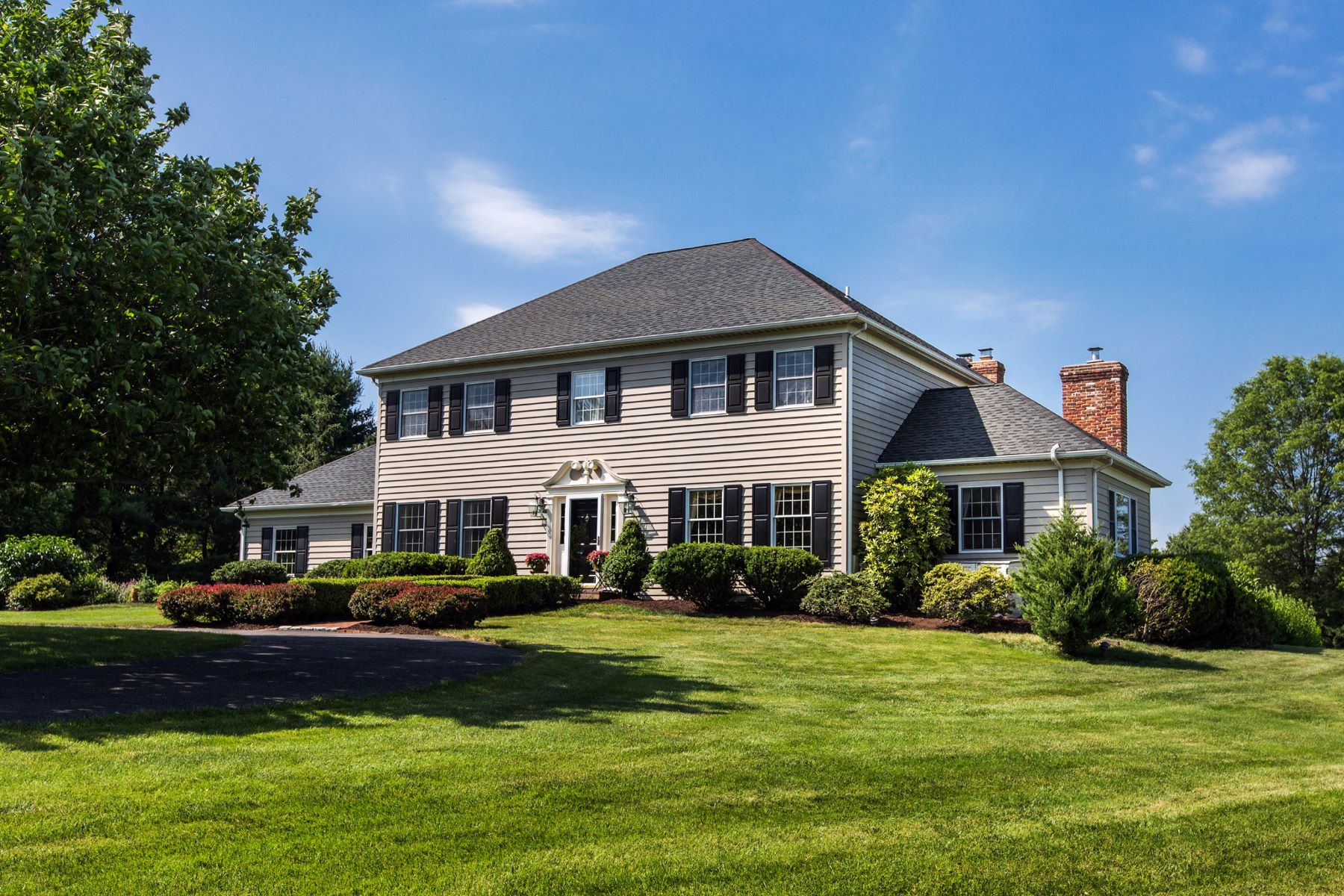 Single Family Home for Sale at Stately Georgian Colonial 3731 STREET RD Doylestown, Pennsylvania, 18902 United States